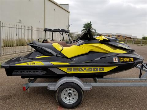 2016 Sea-Doo GTR 215 in Laredo, Texas