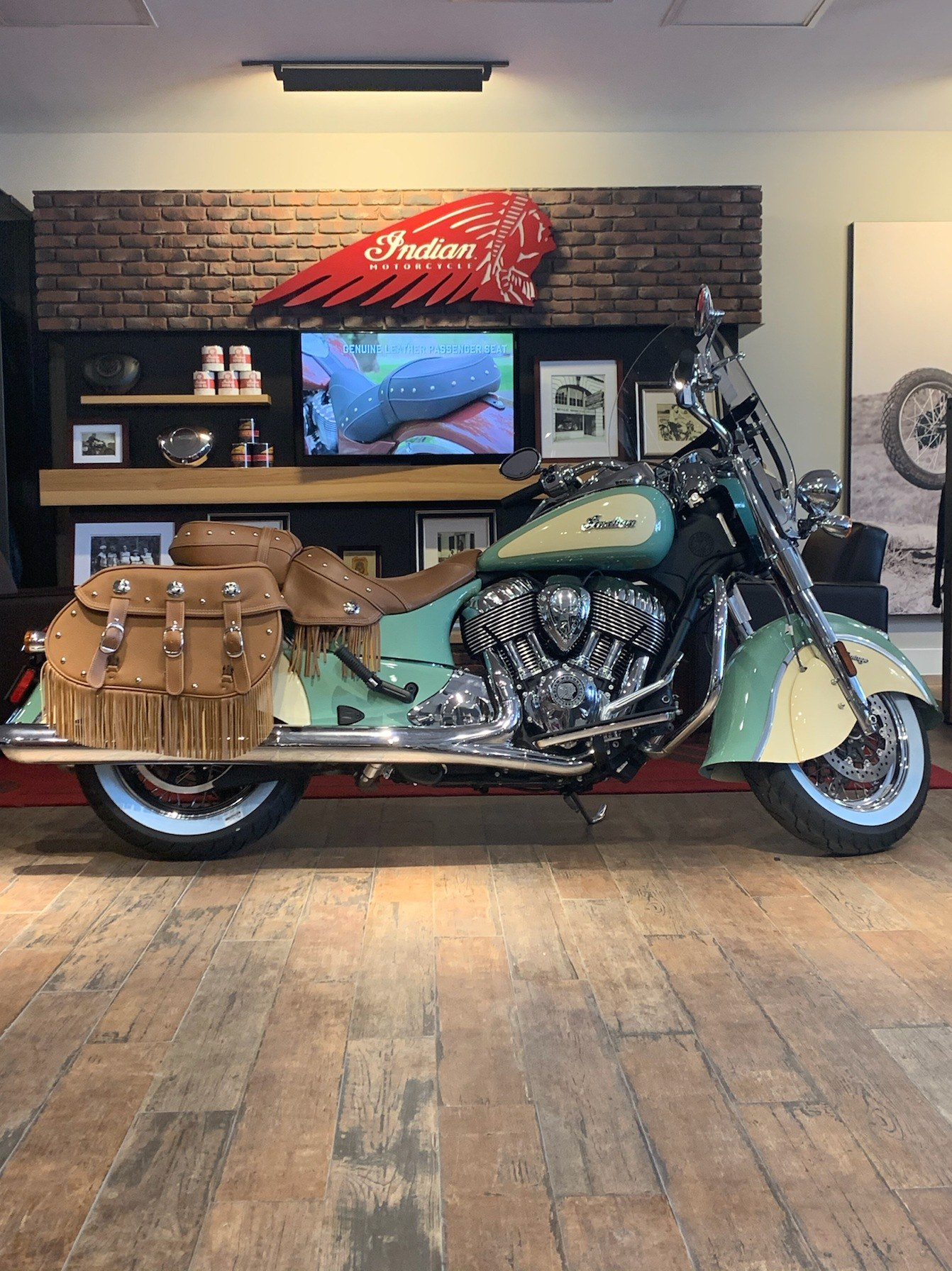 2020 Indian Chief® Vintage ABS in Laredo, Texas - Photo 1