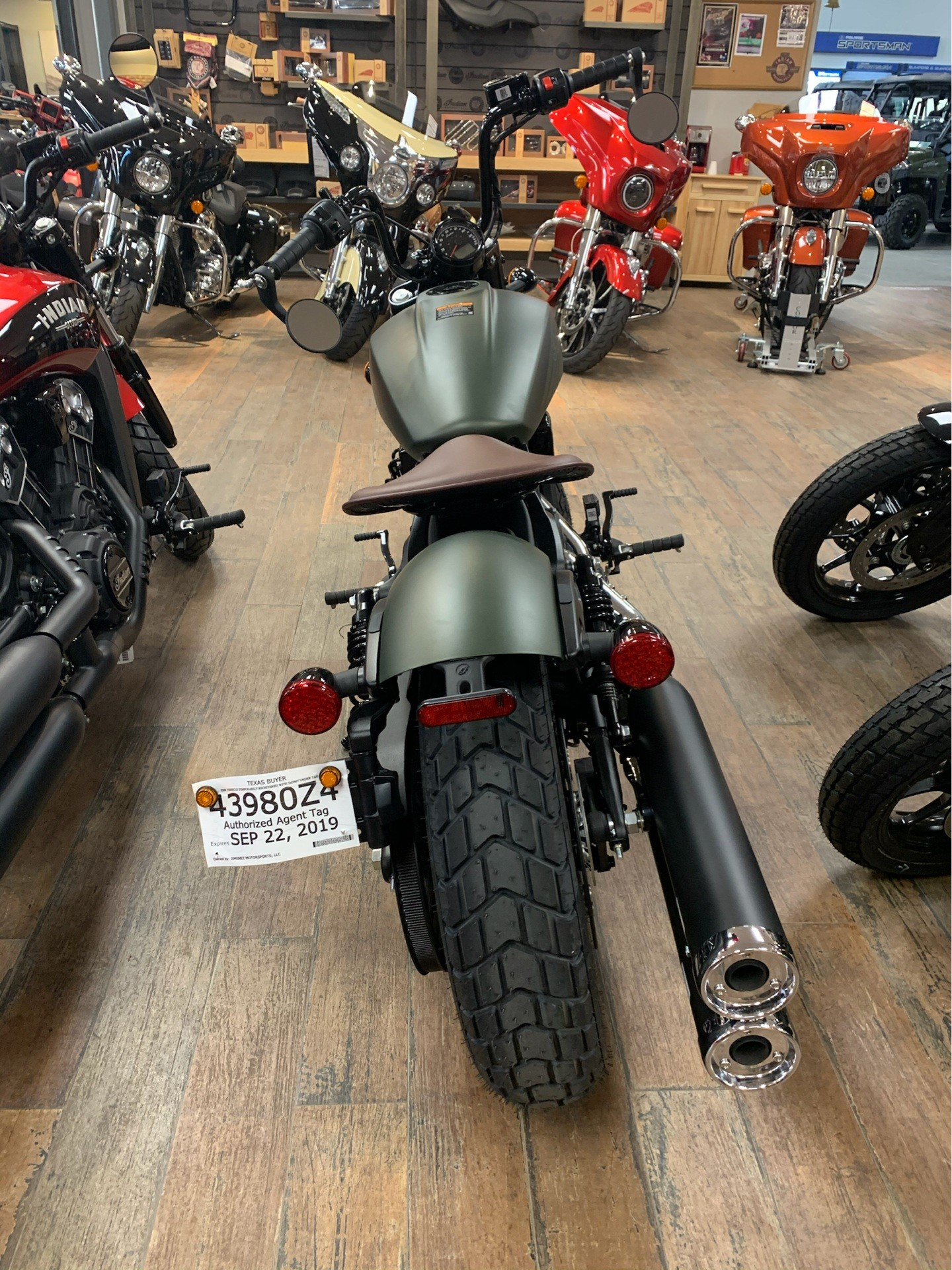 2020 Indian Scout® Bobber Twenty ABS in Laredo, Texas - Photo 5