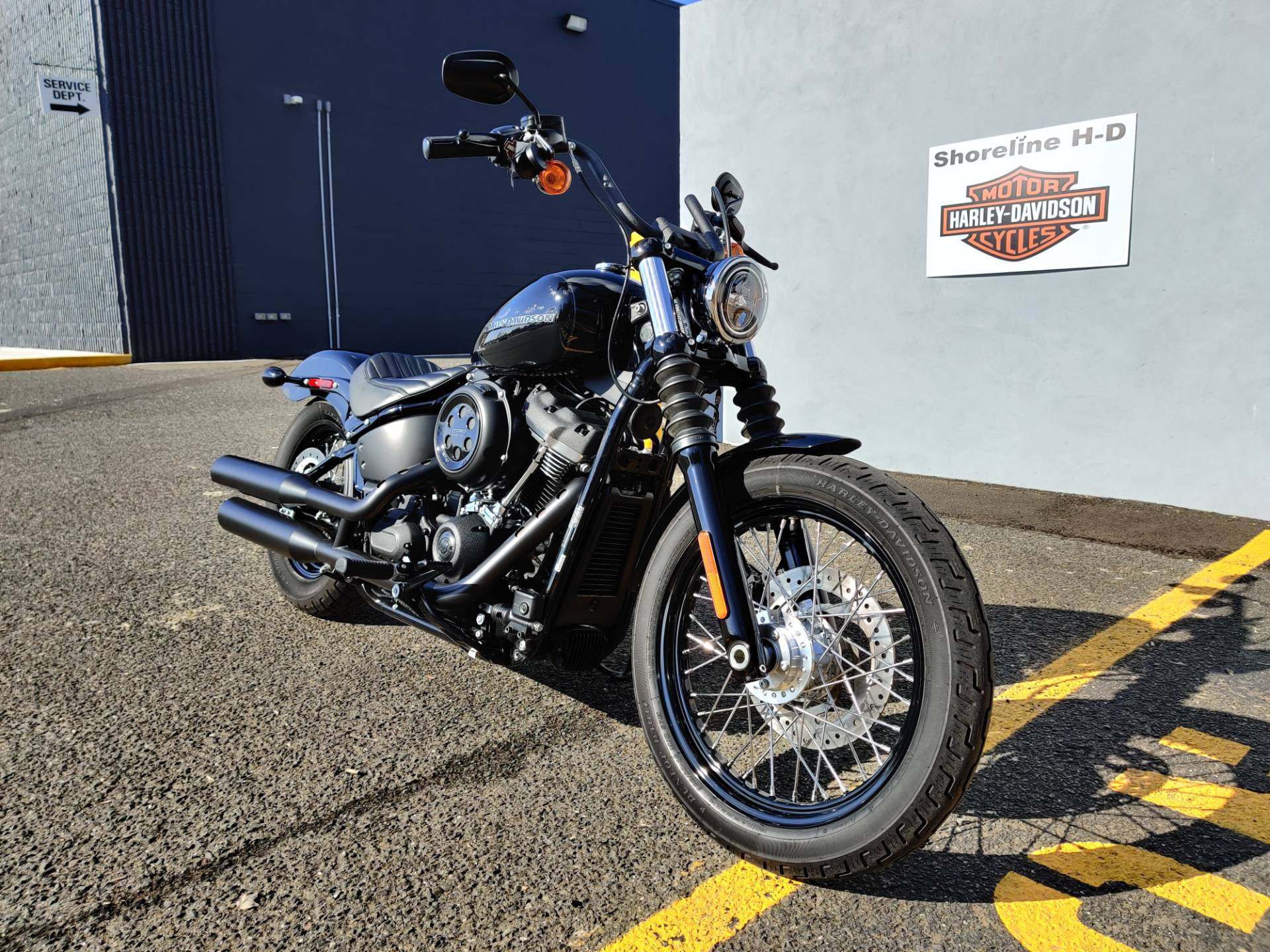 2019 Harley-Davidson Street Bob in West Long Branch, New Jersey - Photo 3
