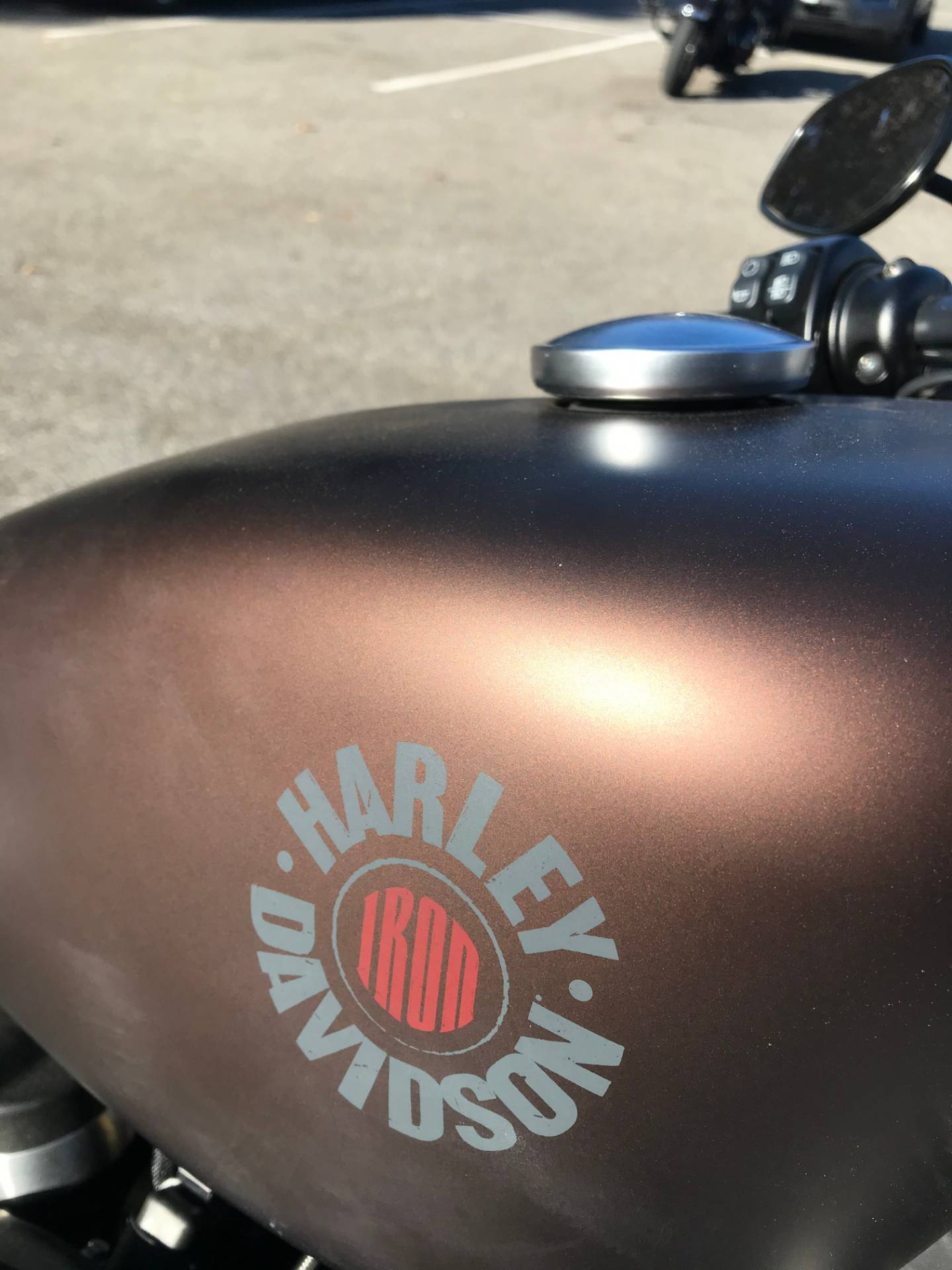 2019 Harley-Davidson IRON 883 in Lakewood, New Jersey - Photo 2