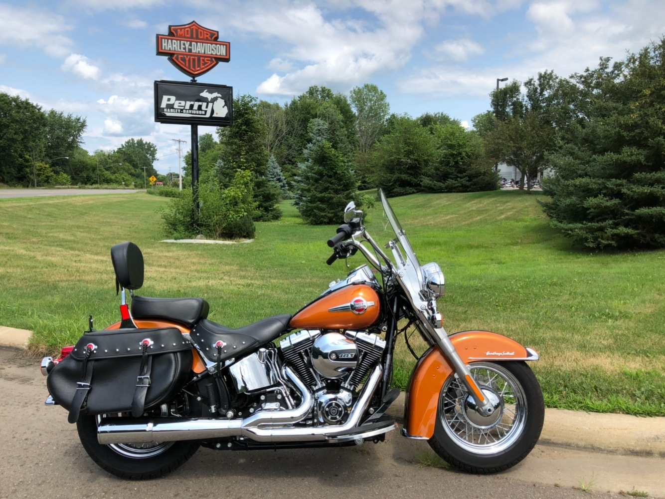 2016 Harley-Davidson Heritage Softail® Classic in Portage, Michigan