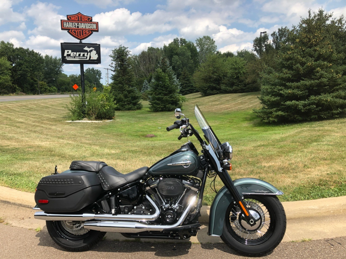 2020 Harley-Davidson HERITAGE CLASSIC 114 in Portage, Michigan - Photo 1