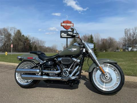 2021 Harley-Davidson Fat Boy® 114 in Portage, Michigan - Photo 1