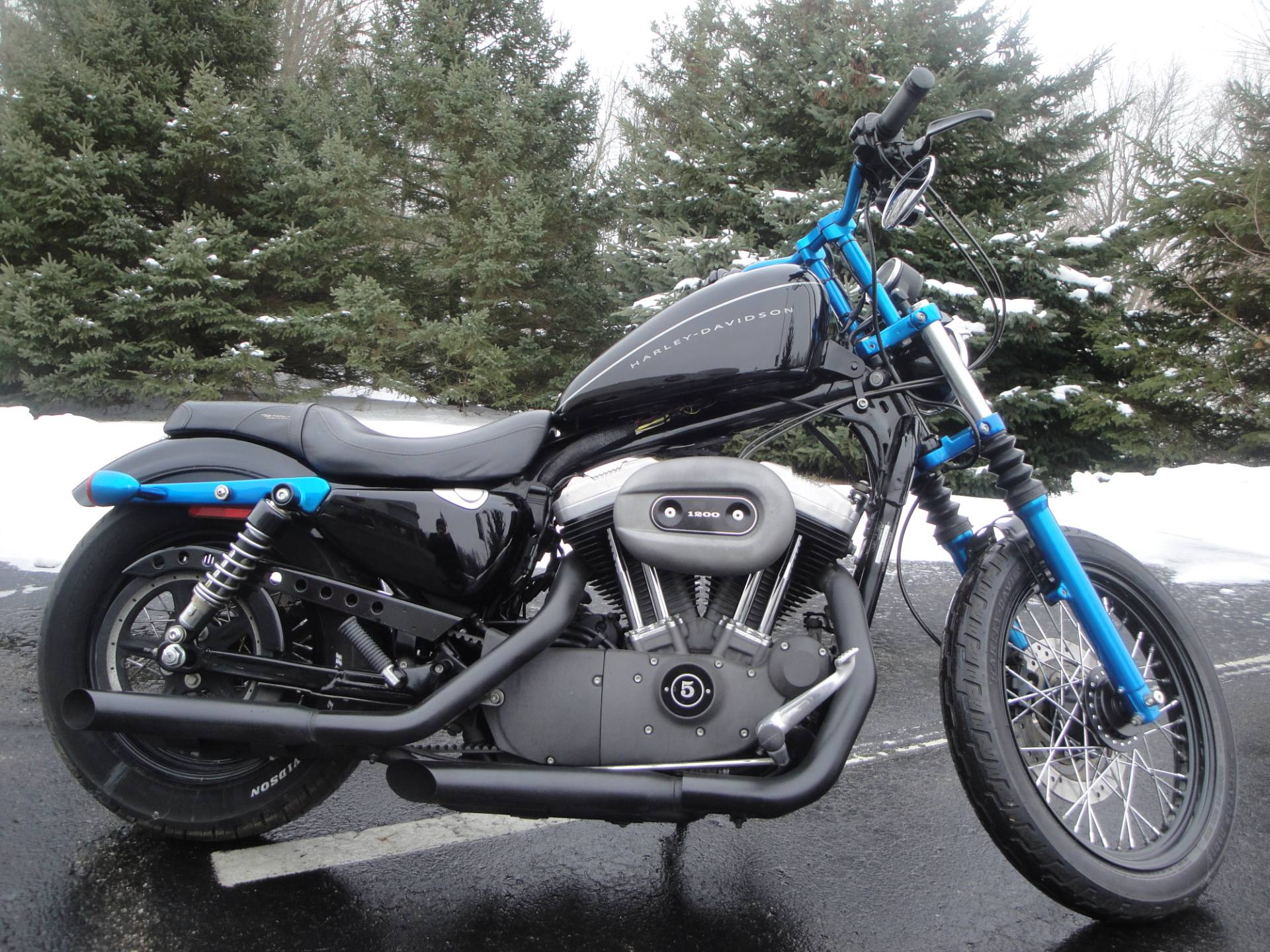 2007 Harley-Davidson Sportster® 1200 Nightster™ in Portage, Michigan - Photo 1