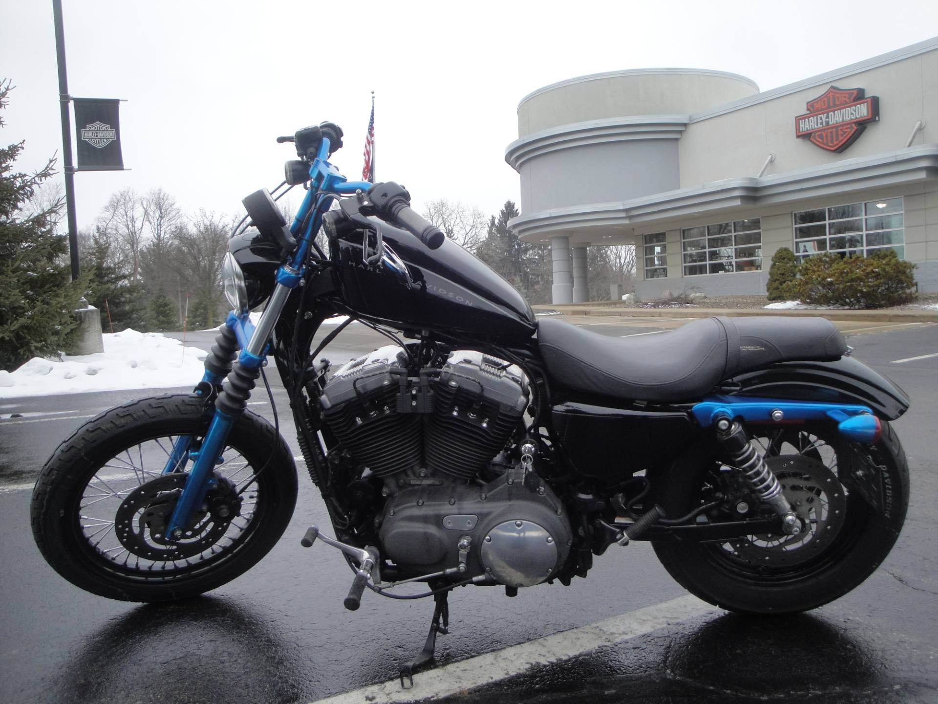 2007 Harley-Davidson Sportster® 1200 Nightster™ in Portage, Michigan - Photo 4