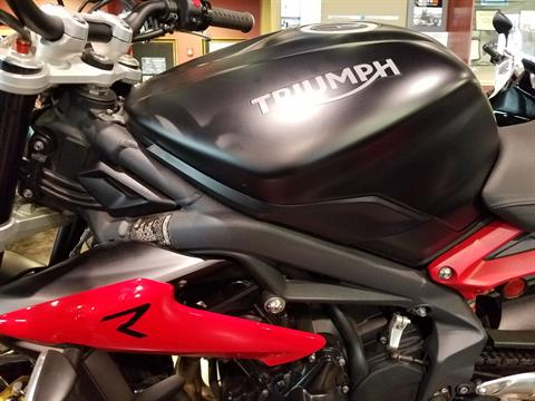 2016 Triumph Street Triple R ABS in Saint Charles, Illinois