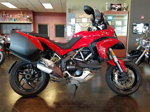 2014 Ducati Multistrada 1200 S Touring in Saint Charles, Illinois