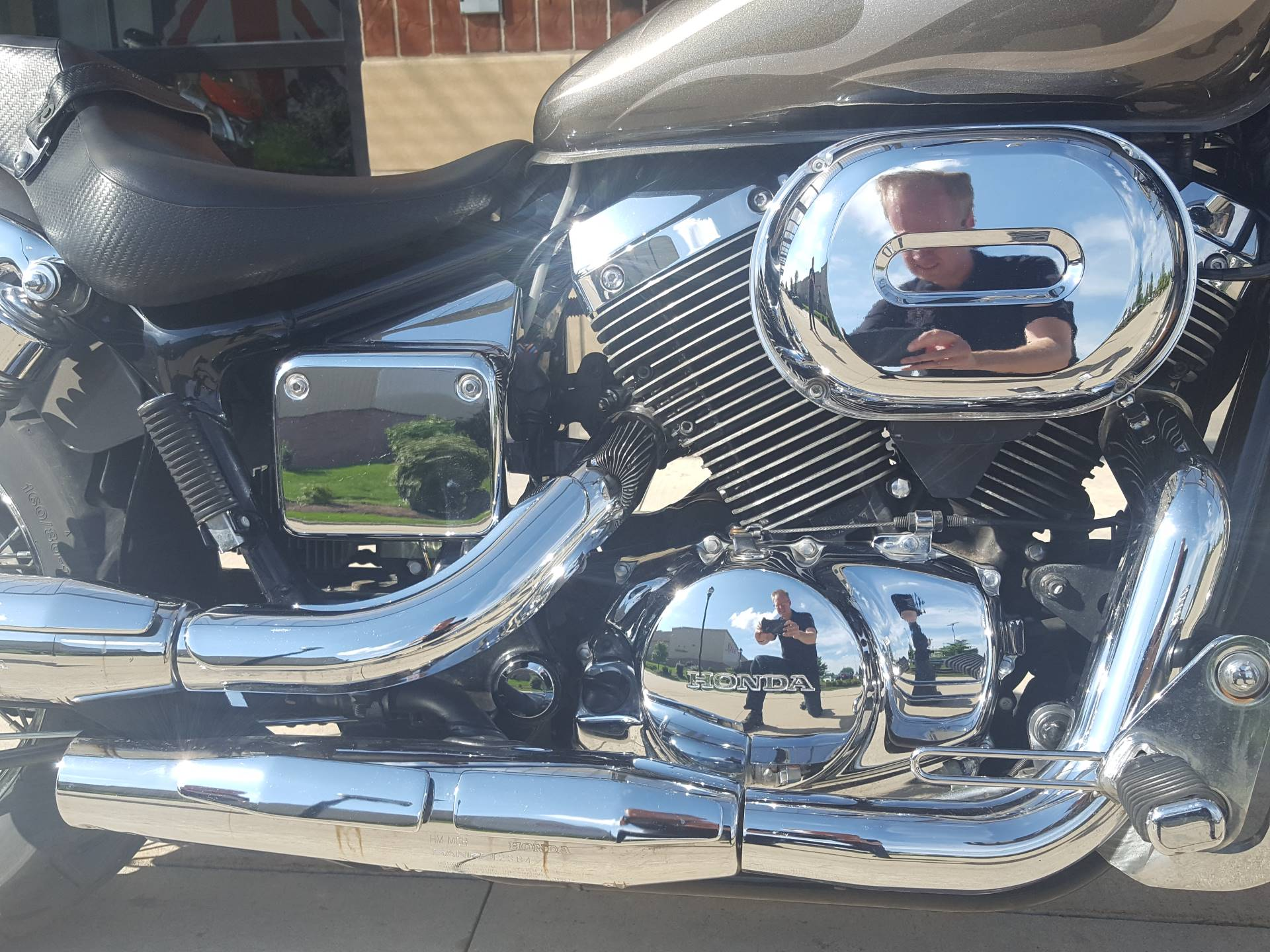 2006 Honda Shadow Spirit 750 5