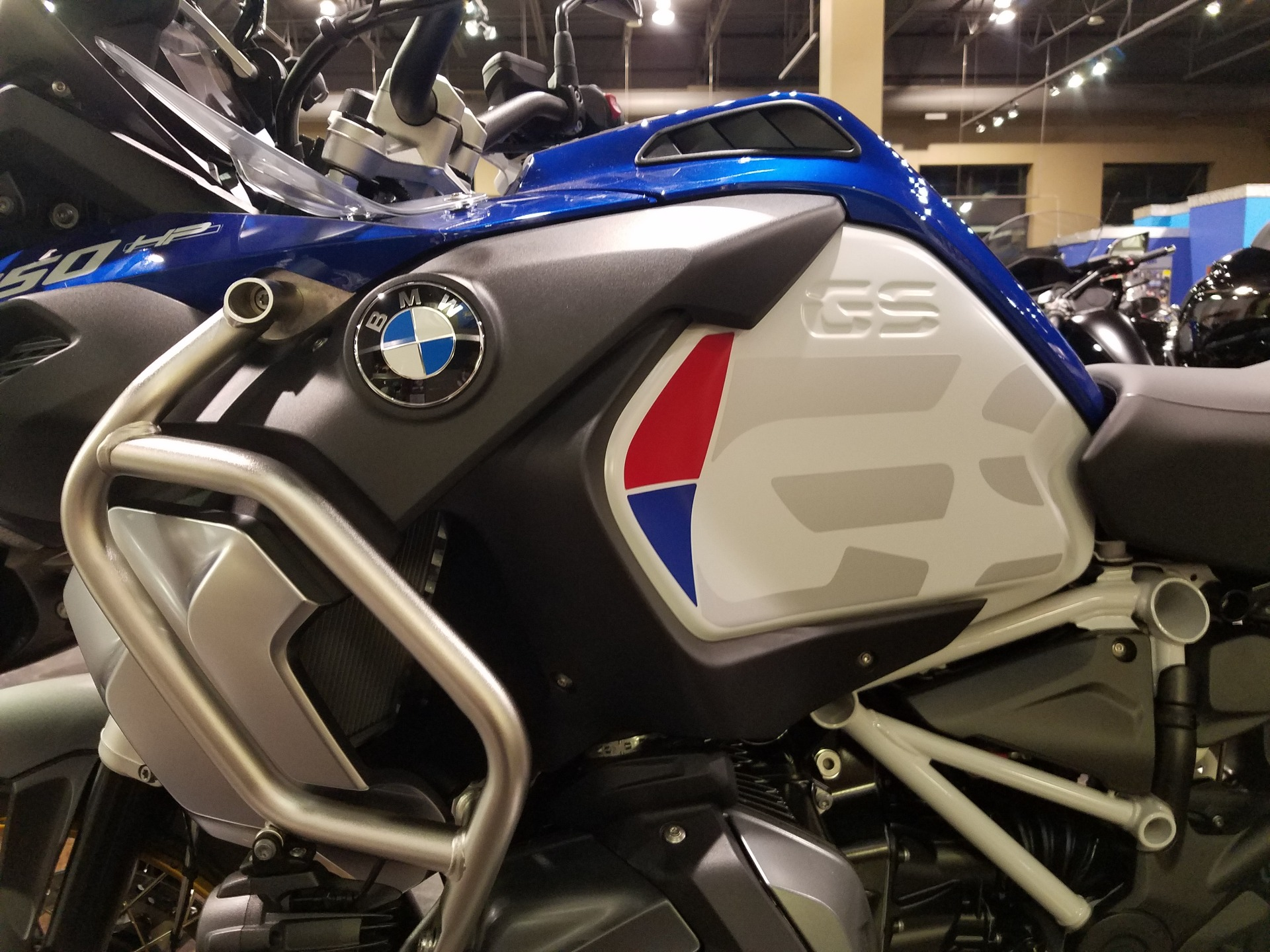2019 BMW R1250GS WHITE/RACINGBLUE/RED in Saint Charles, Illinois