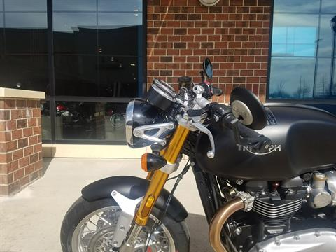 2018 Triumph Thruxton 1200 R in Saint Charles, Illinois