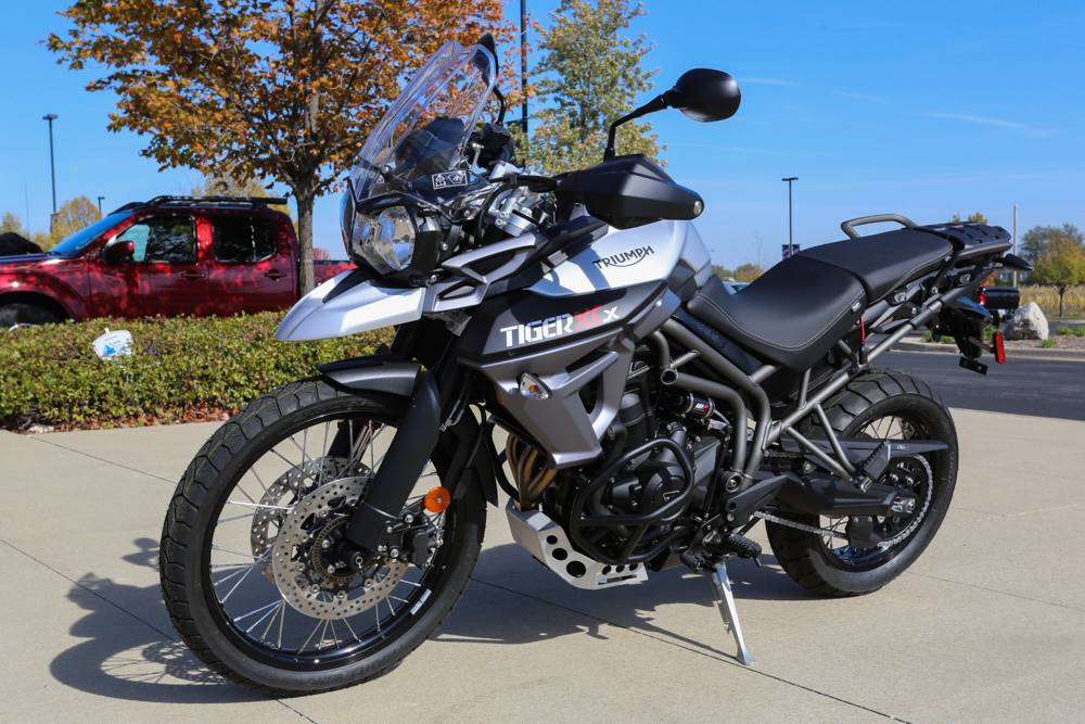 2017 Triumph Tiger 800 XRx Low in Saint Charles, Illinois
