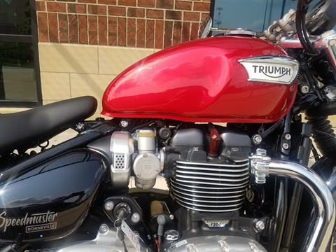 2018 Triumph Bonneville Speedmaster in Saint Charles, Illinois