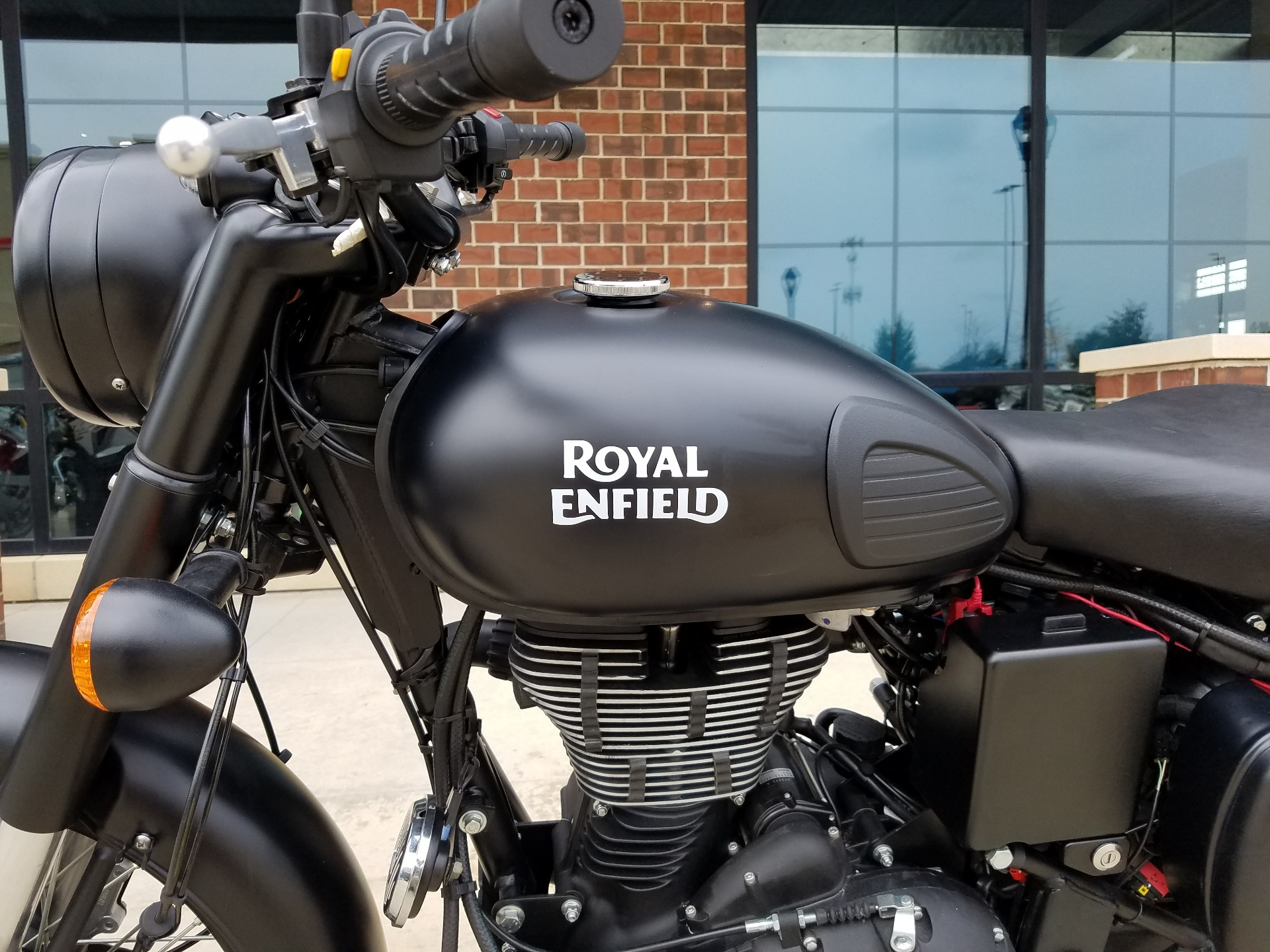 2018 Royal Enfield Classic Stealth Black ABS in Saint Charles, Illinois