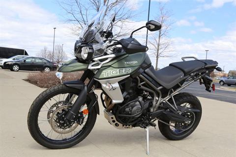 2018 Triumph Tiger 800 XCx in Saint Charles, Illinois
