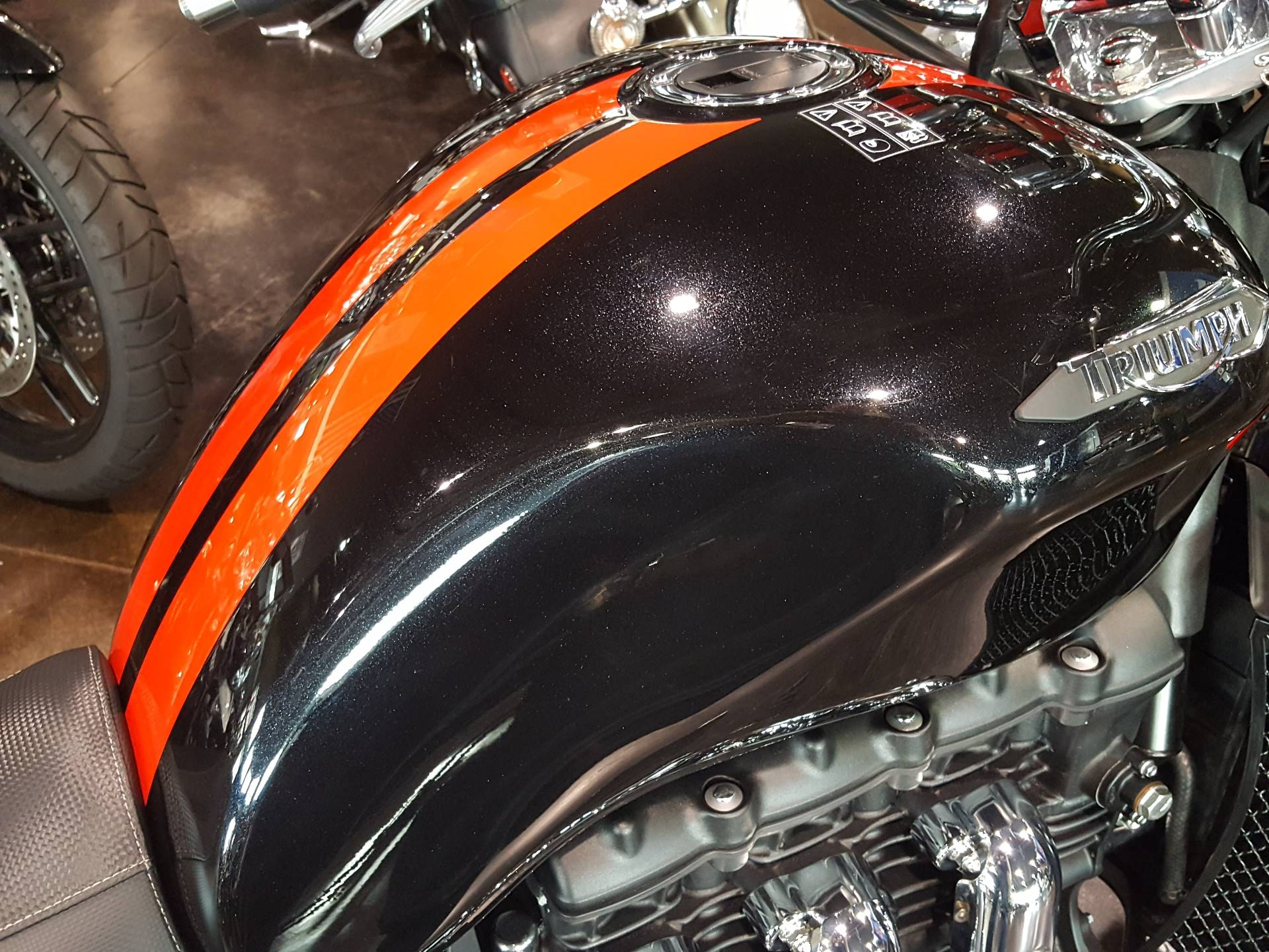 2018 Triumph Rocket III Roadster ABS in Saint Charles, Illinois