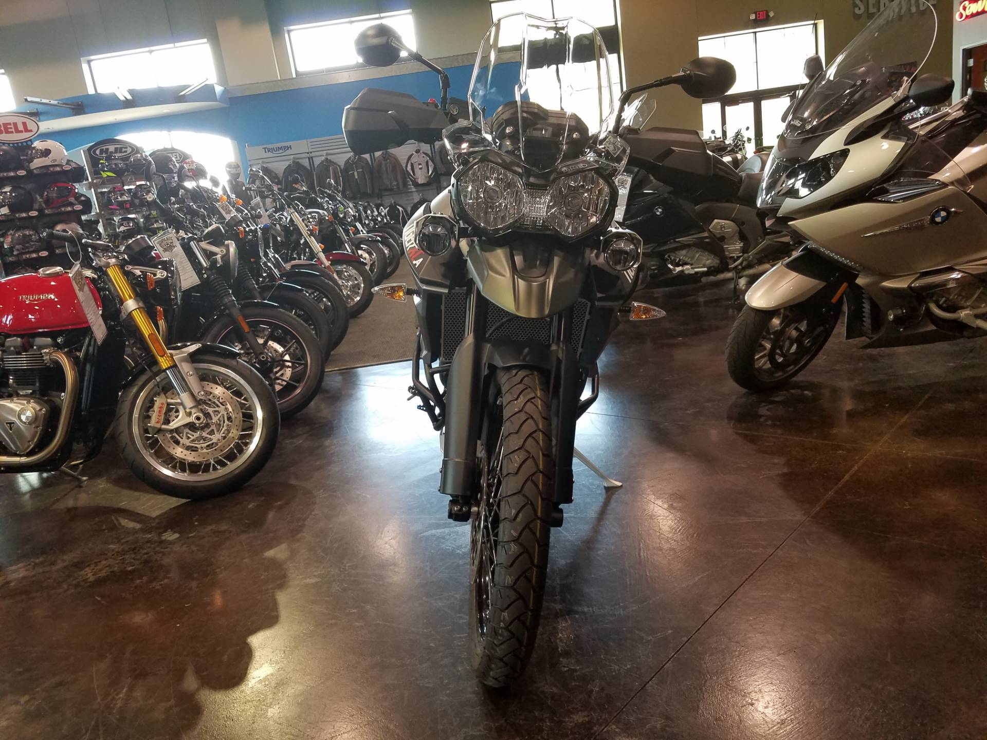 2017 Triumph Tiger 800 XCA in Saint Charles, Illinois