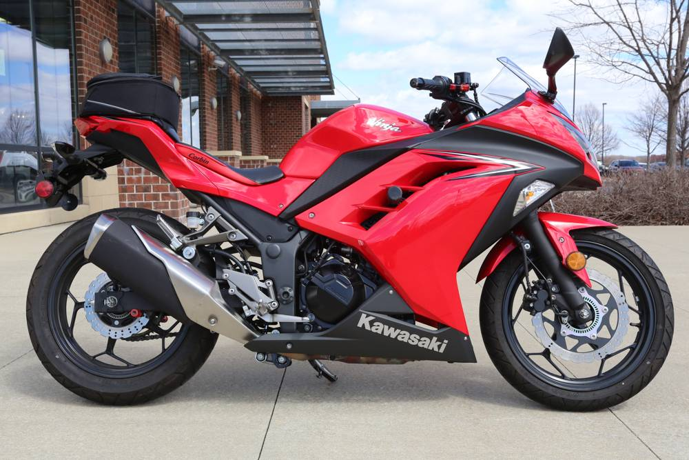 2016 Kawasaki Ninja 300 Abs In Saint Charles Illinois Photo 1