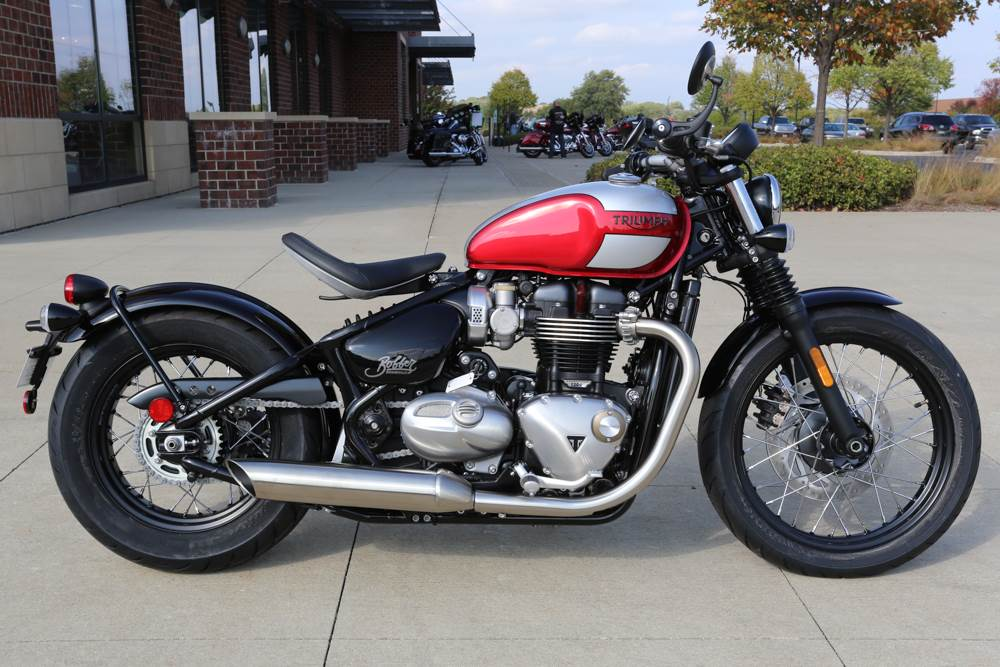 2018 Triumph Bonneville Bobber in Saint Charles, Illinois