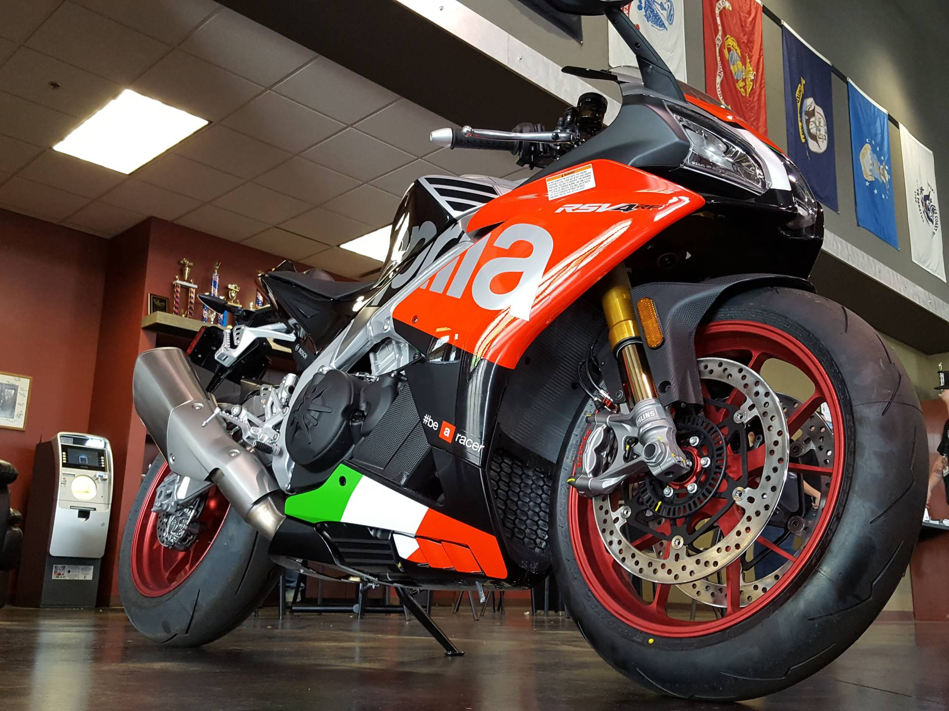 2018 Aprilia RSV4 RF in Saint Charles, Illinois - Photo 3