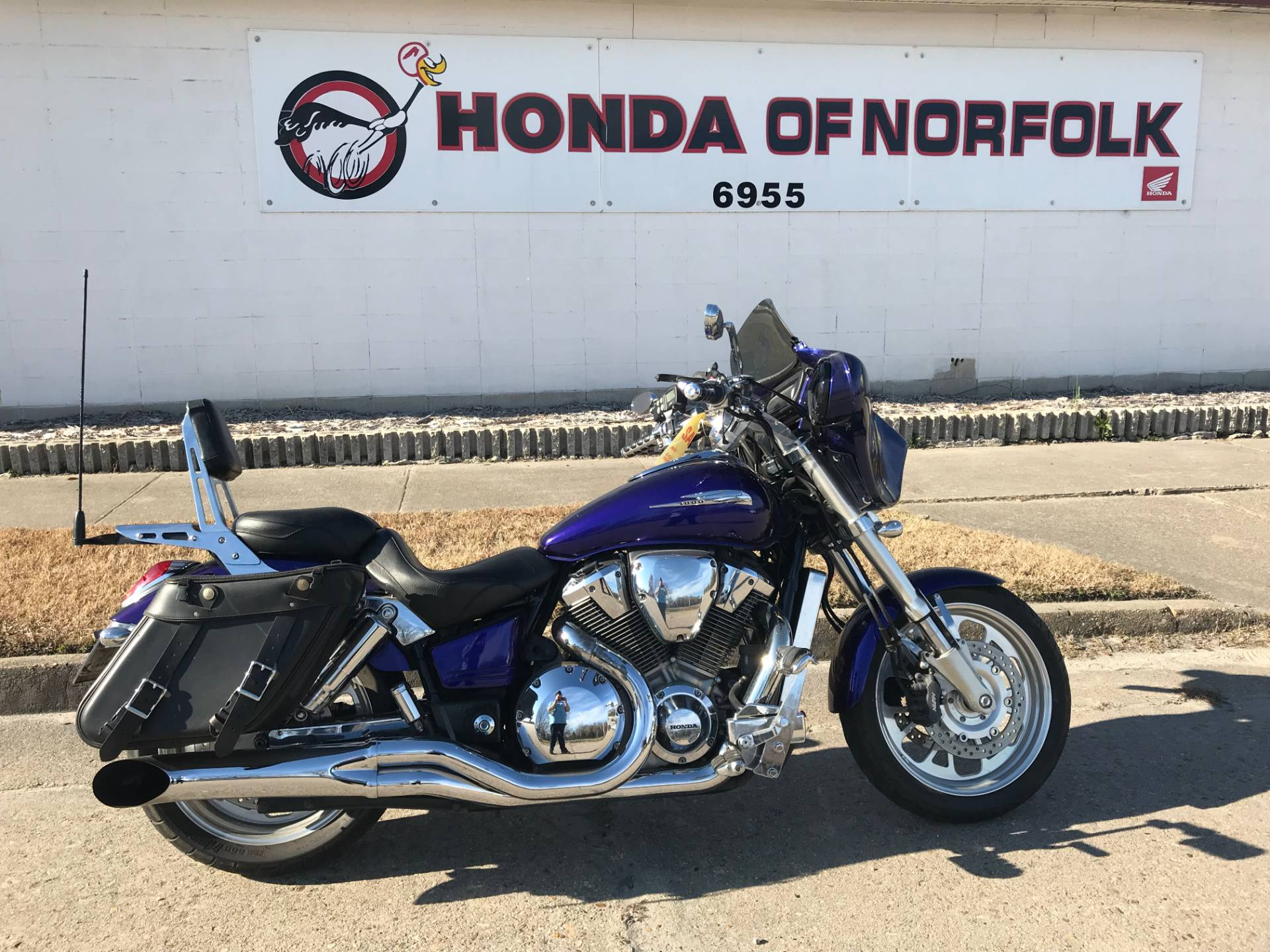 2002 Honda VTX1800 In Norfolk, Virginia