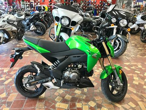 2017 Kawasaki Z125 Pro in Gonzales, Louisiana