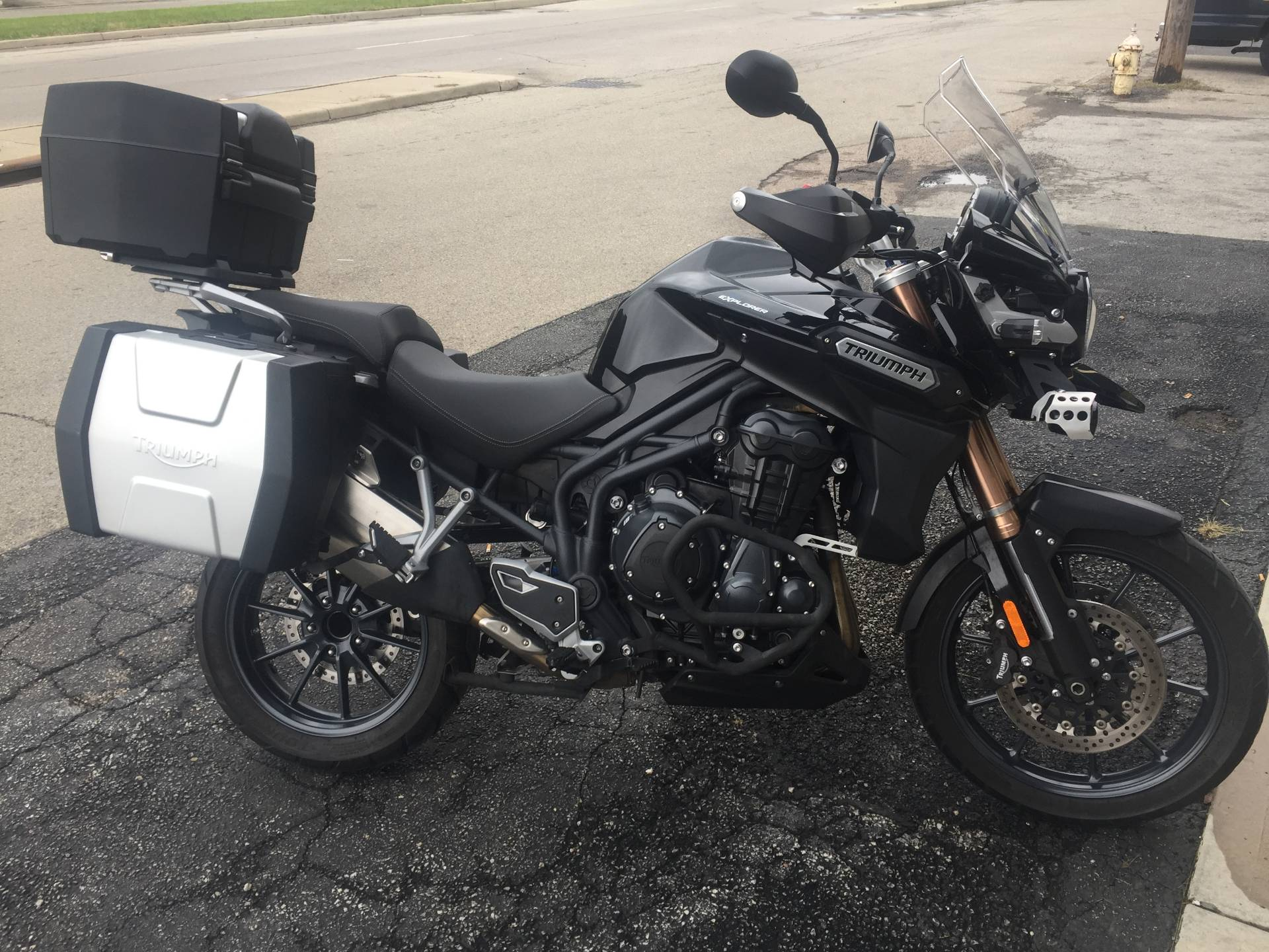 2013 Triumph Tiger Explorer ABS in Dayton, Ohio