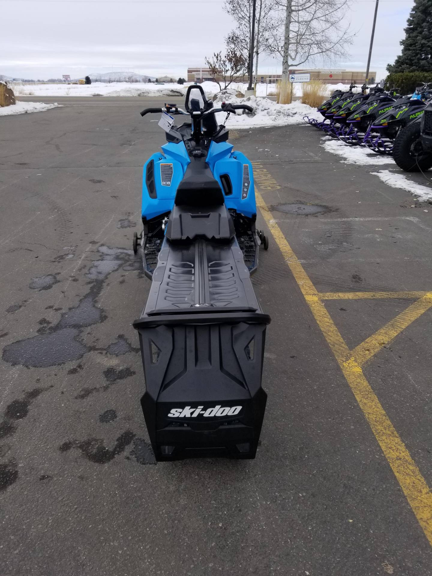 2020 Ski-Doo Summit SP 165 850 E-TEC SHOT PowderMax Light 3.0 w/ FlexEdge in Rexburg, Idaho - Photo 8