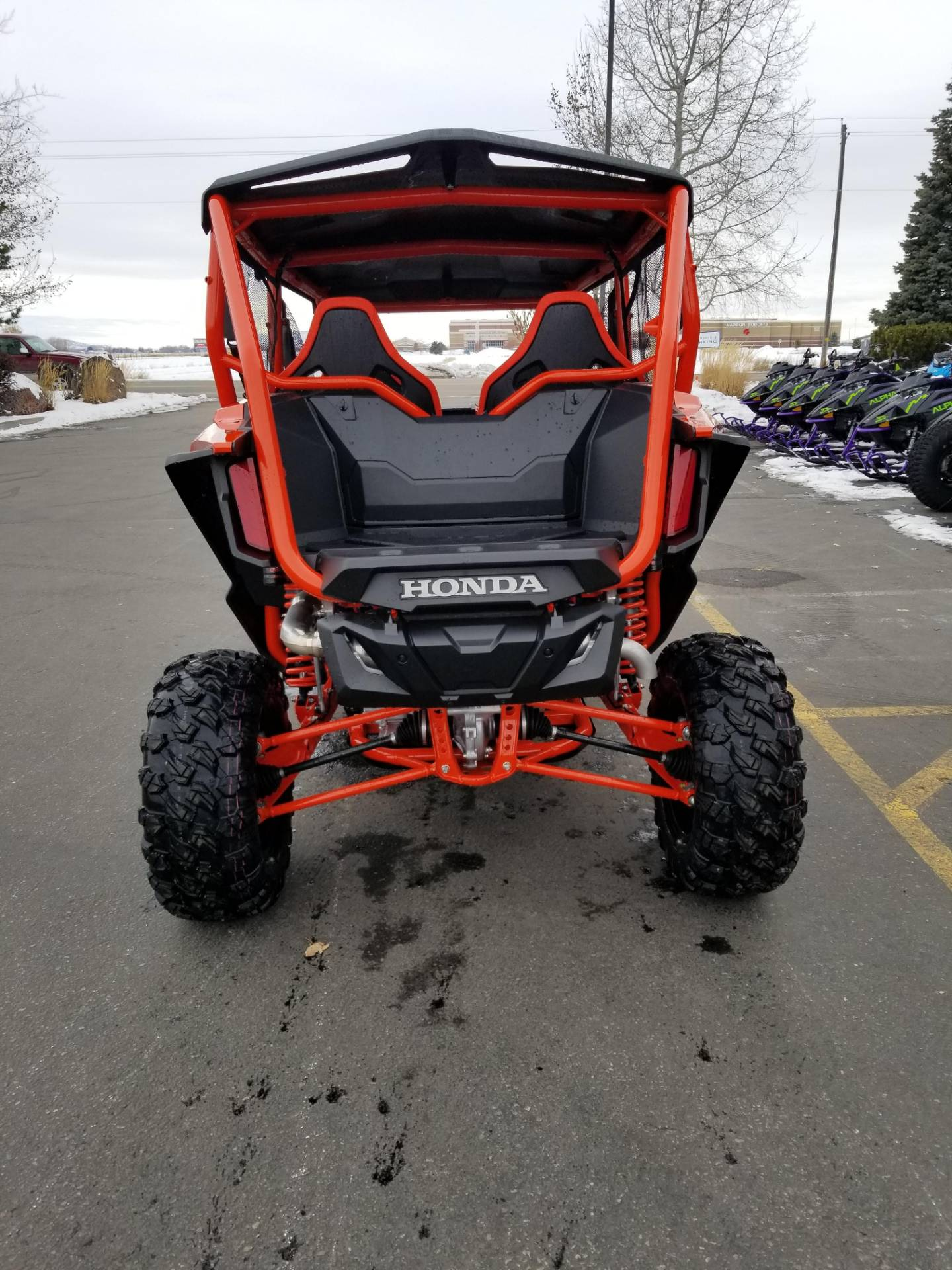 2020 Honda Talon 1000X-4 FOX Live Valve in Rexburg, Idaho - Photo 9
