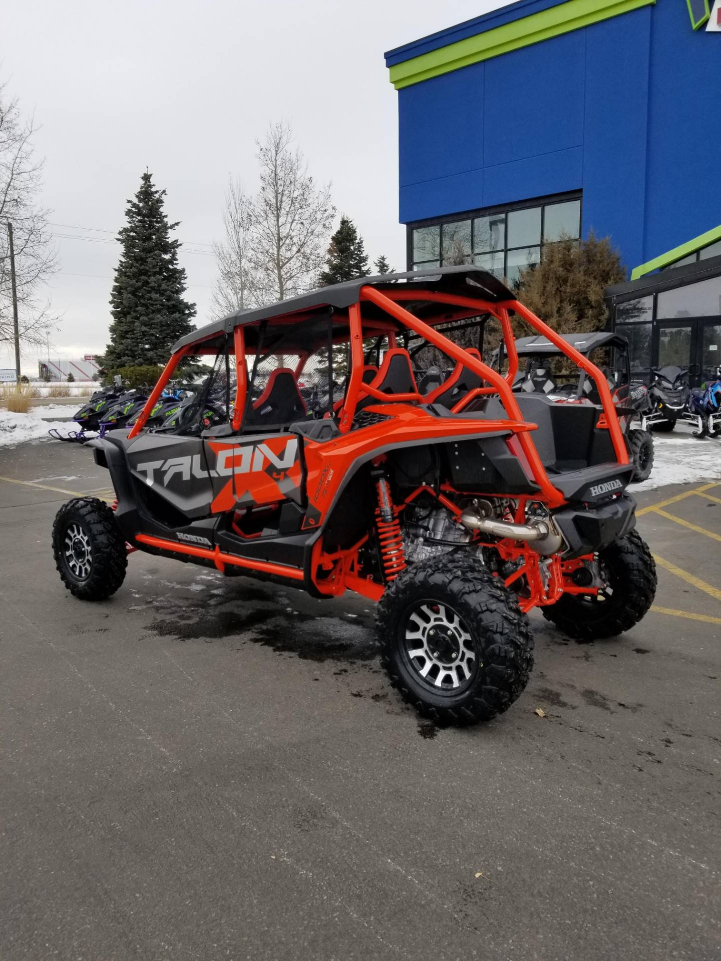 2020 Honda Talon 1000X-4 FOX Live Valve in Rexburg, Idaho - Photo 10