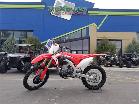 2019 Honda CRF450R in Rexburg, Idaho - Photo 1