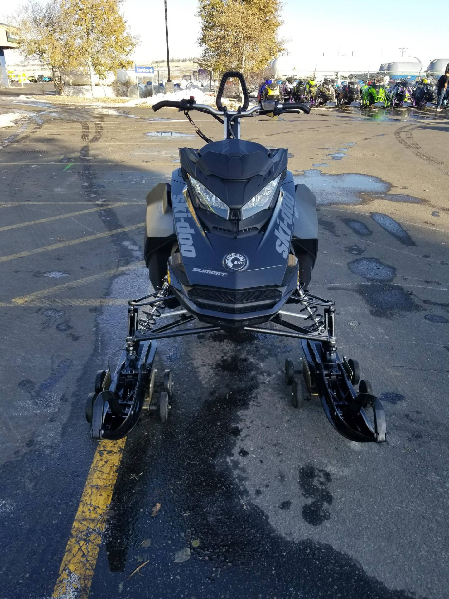 2020 Ski-Doo Summit SP 165 850 E-TEC PowderMax Light 3.0 w/ FlexEdge in Rexburg, Idaho - Photo 4