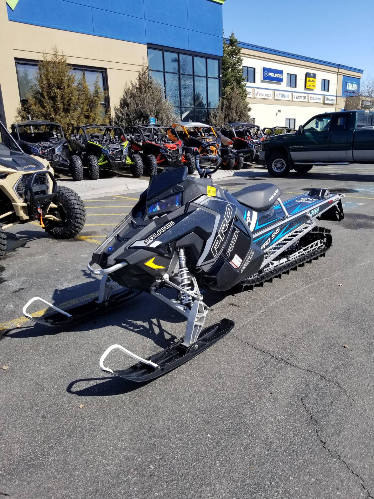 2018 Polaris 800 PRO-RMK 155 in Rexburg, Idaho - Photo 2