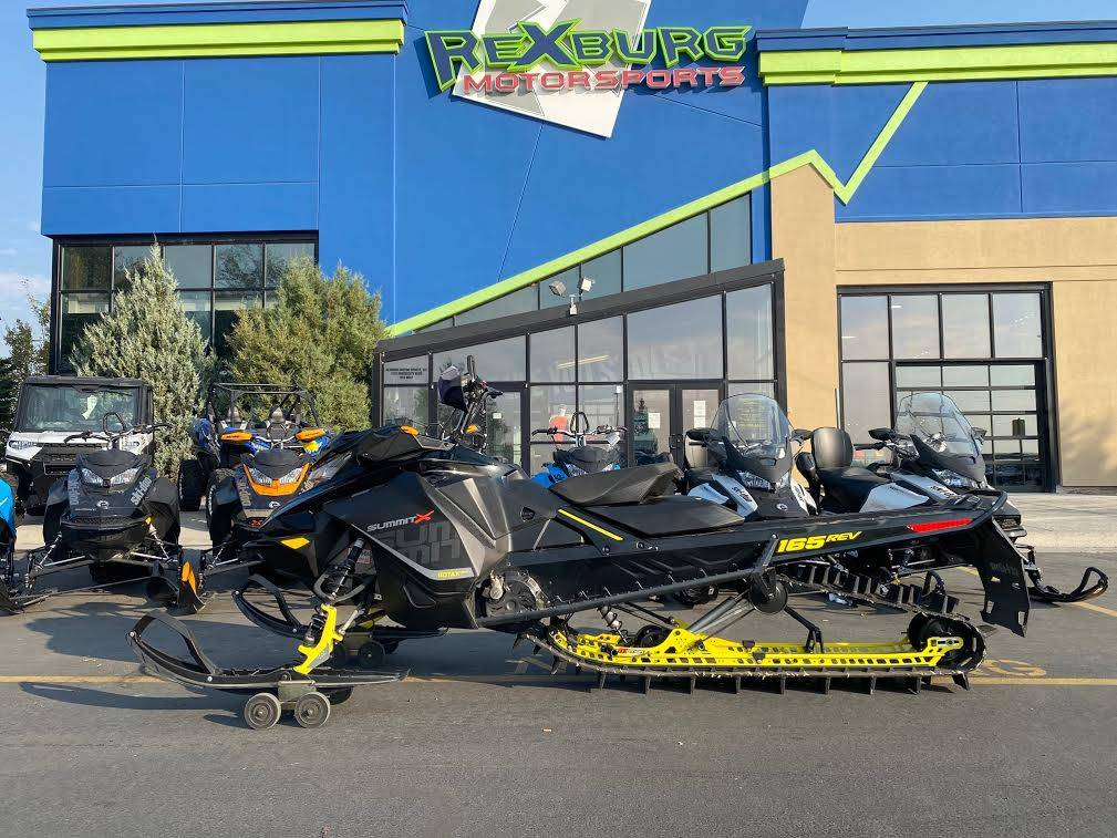 2017 Ski-Doo Summit X 165 850 E-TEC, PowderMax 3.0 in. in Rexburg, Idaho - Photo 1