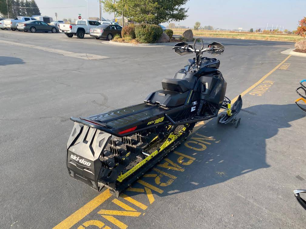 2017 Ski-Doo Summit X 165 850 E-TEC, PowderMax 3.0 in. in Rexburg, Idaho - Photo 7
