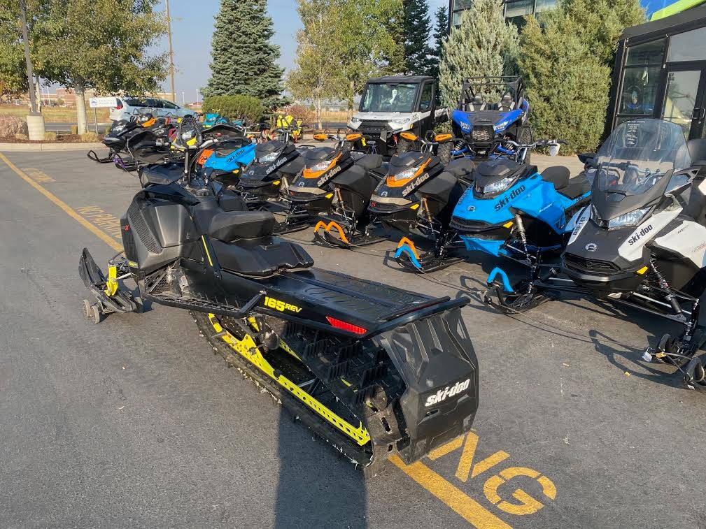 2017 Ski-Doo Summit X 165 850 E-TEC, PowderMax 3.0 in. in Rexburg, Idaho - Photo 10