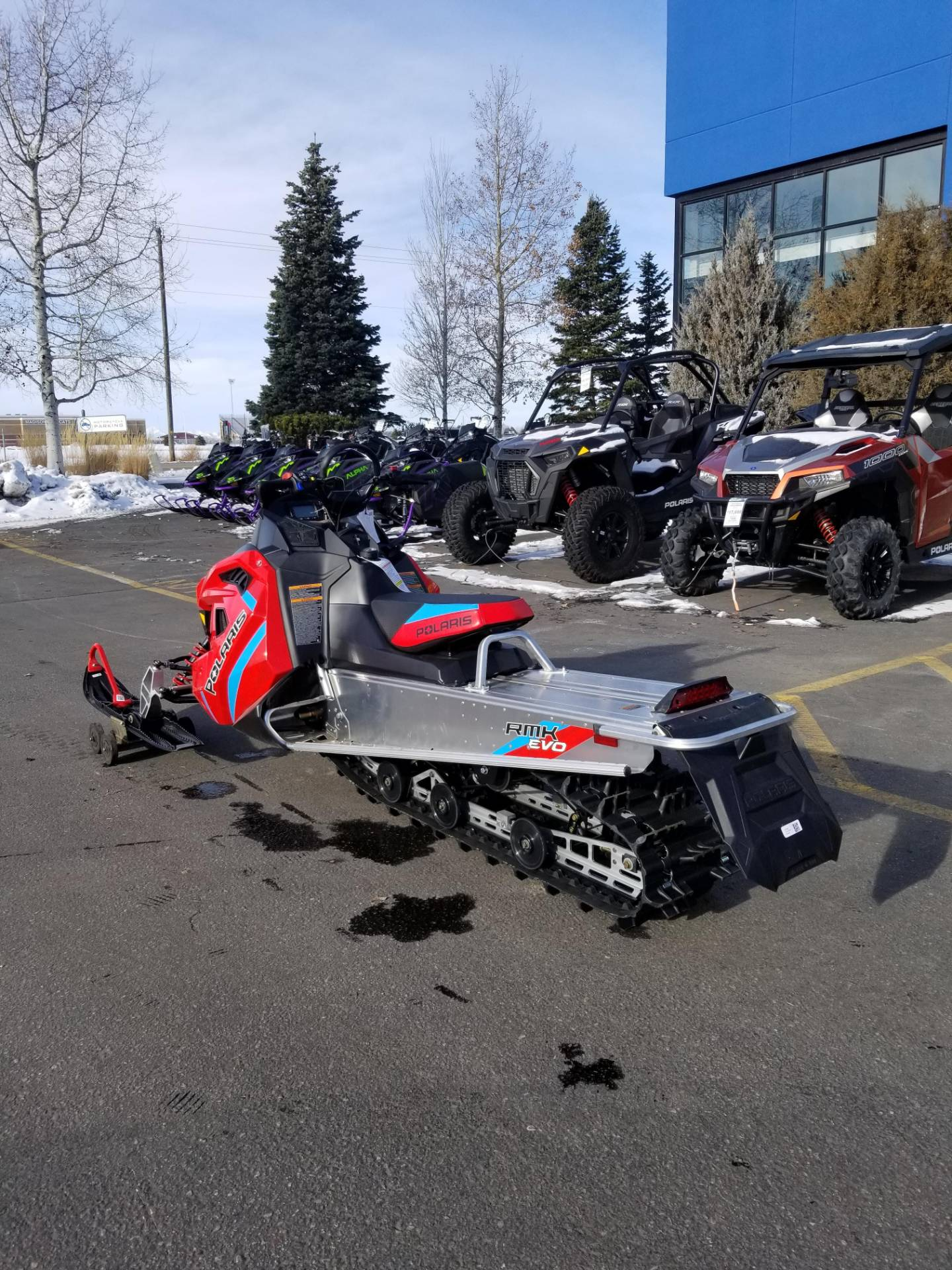 2020 Polaris 550 RMK EVO 144 ES in Rexburg, Idaho - Photo 10