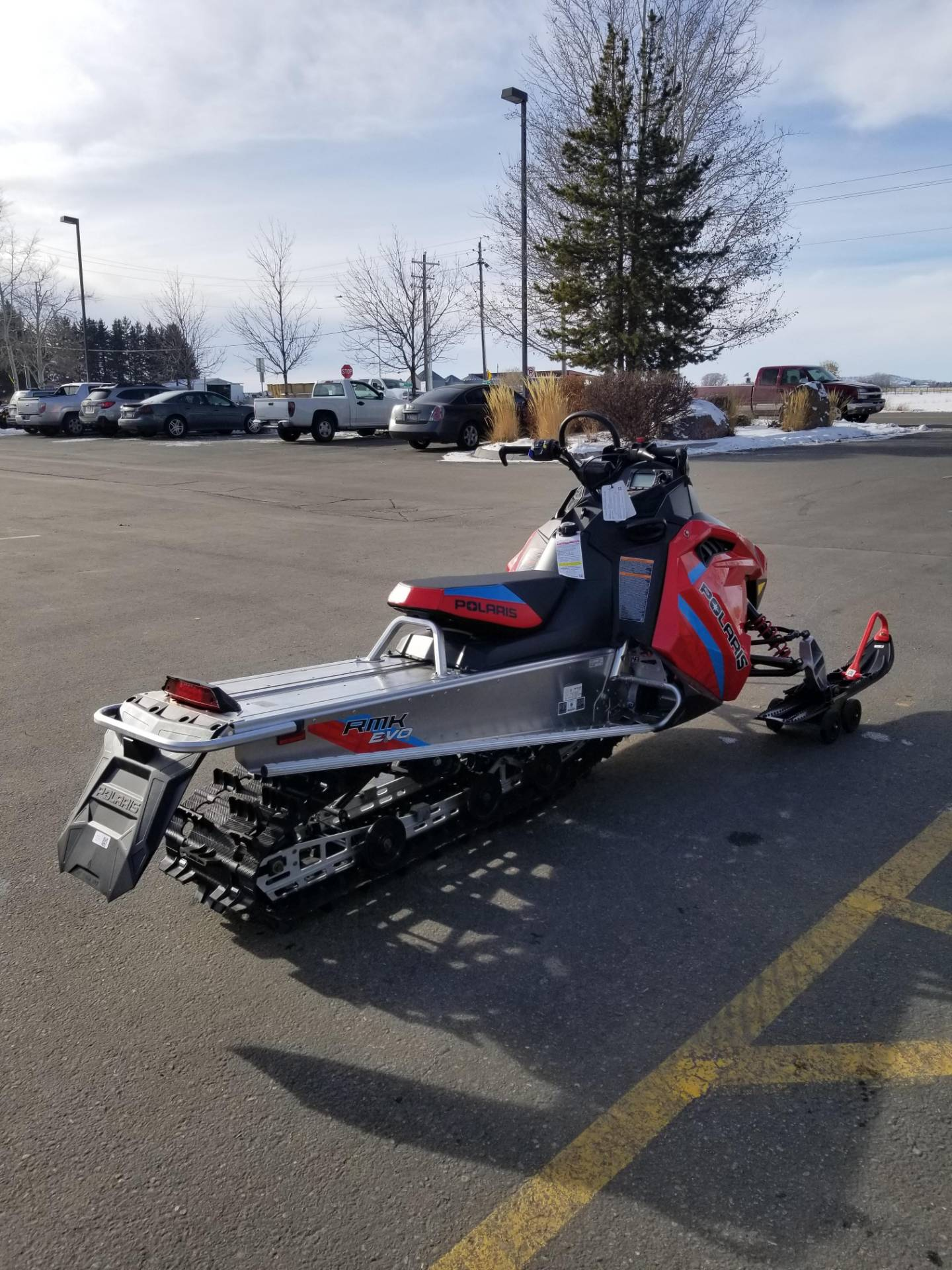 2020 Polaris 550 RMK EVO 144 ES in Rexburg, Idaho - Photo 8