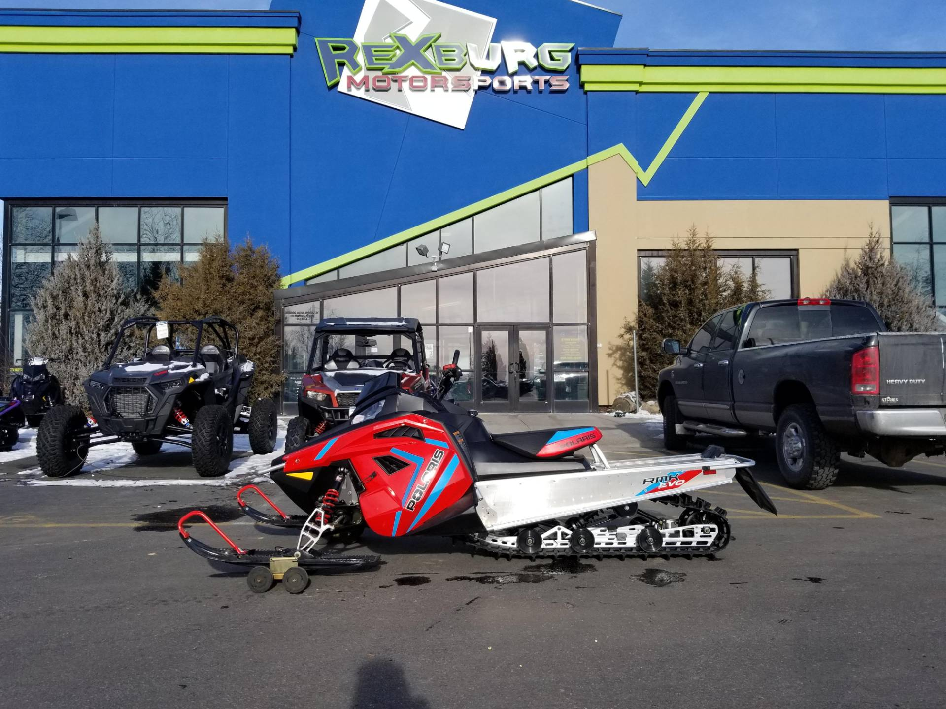 2020 Polaris 550 RMK EVO 144 ES in Rexburg, Idaho - Photo 1