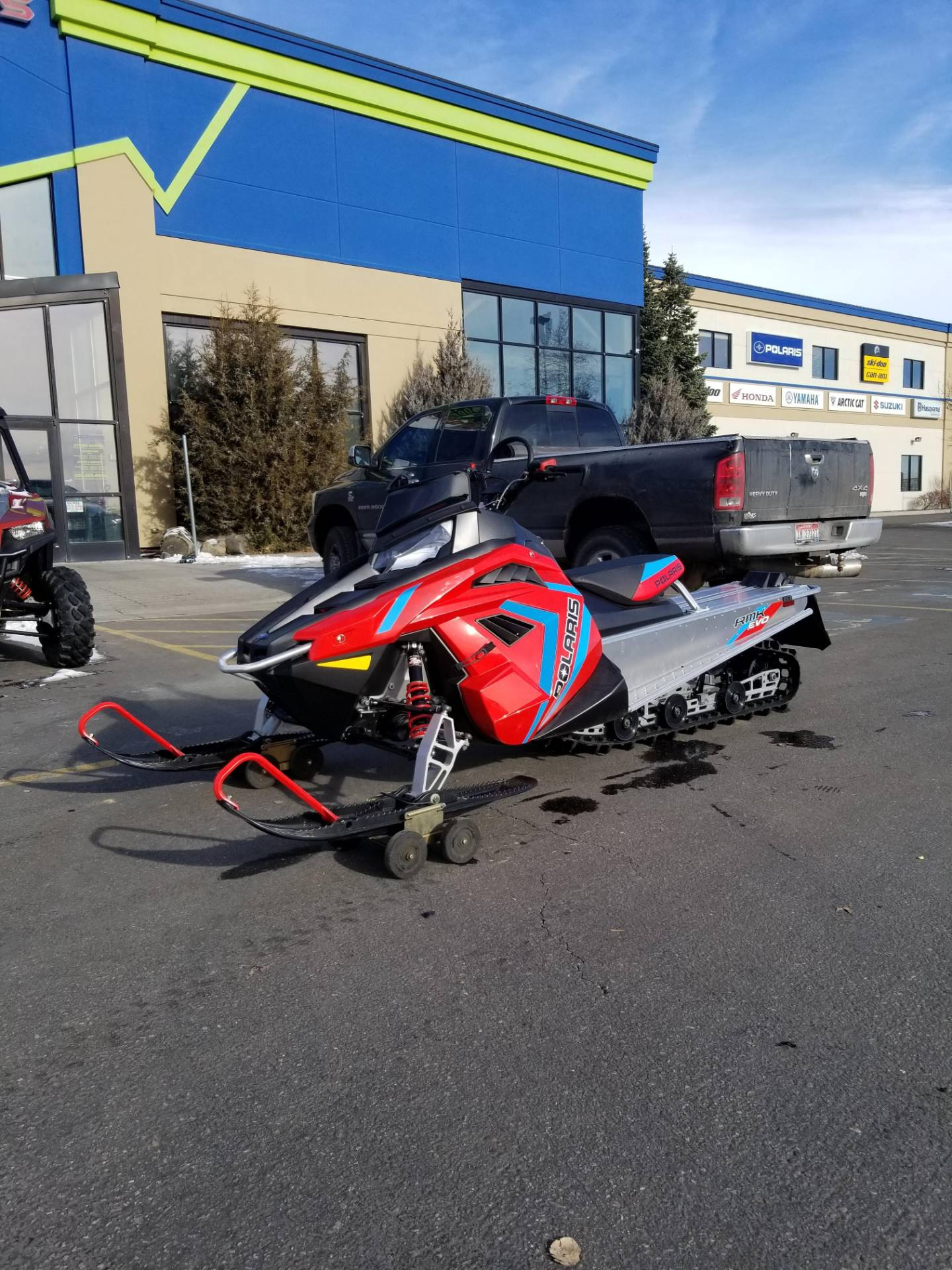 2020 Polaris 550 RMK EVO 144 ES in Rexburg, Idaho - Photo 2
