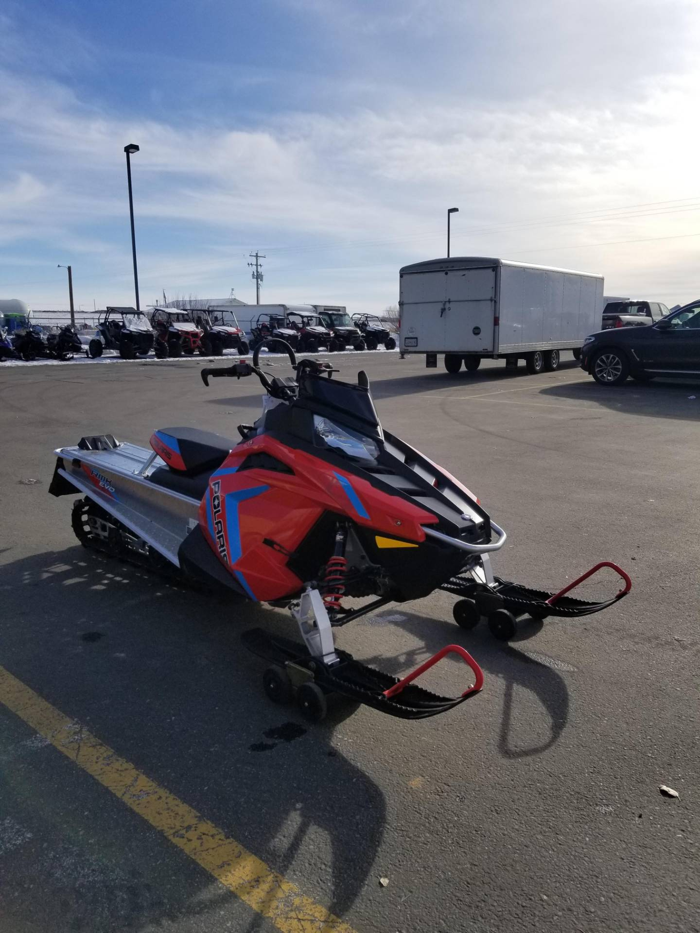 2020 Polaris 550 RMK EVO 144 ES in Rexburg, Idaho - Photo 5
