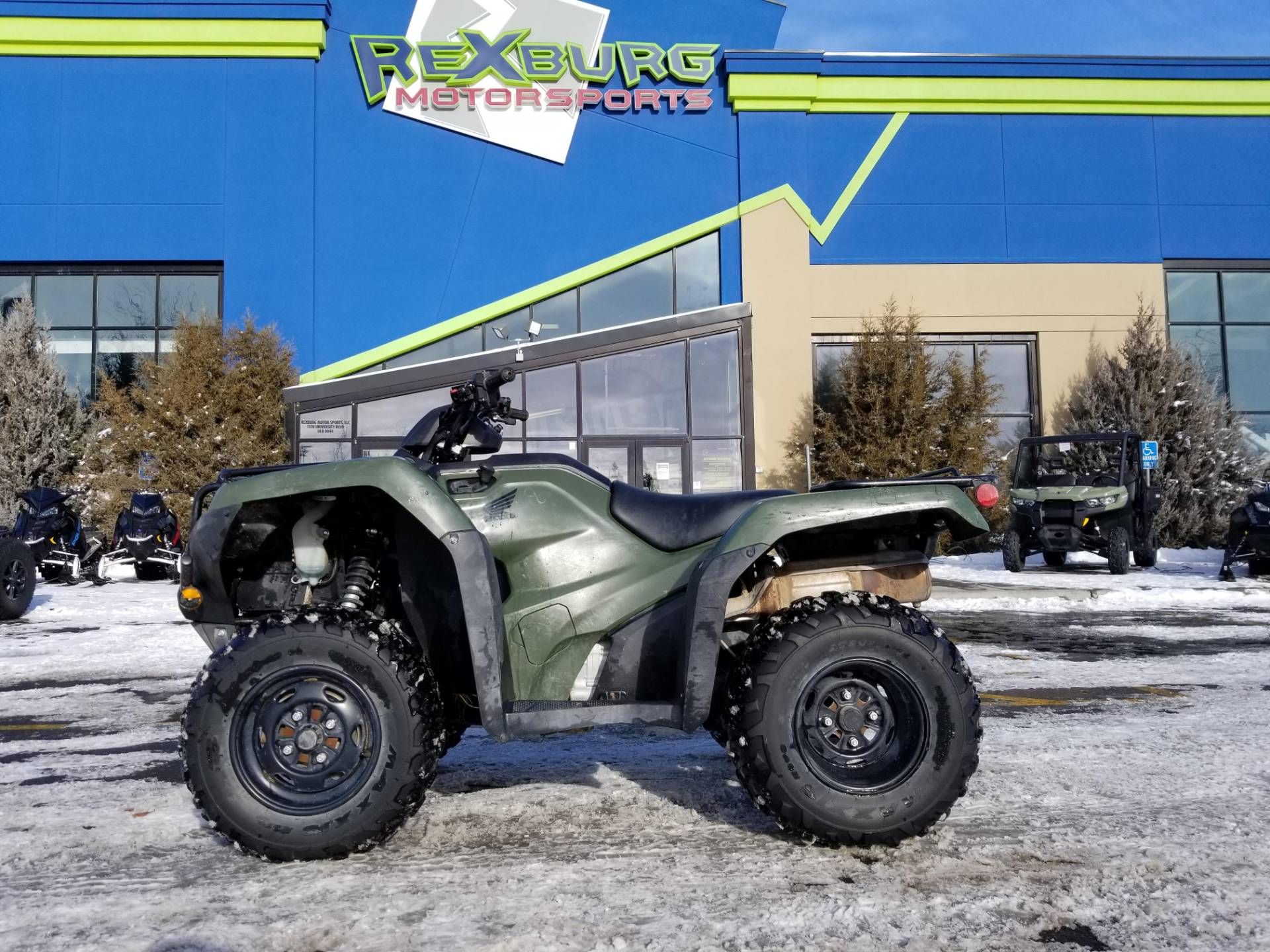 2019 Honda FourTrax Rancher 4x4 ES in Rexburg, Idaho - Photo 1