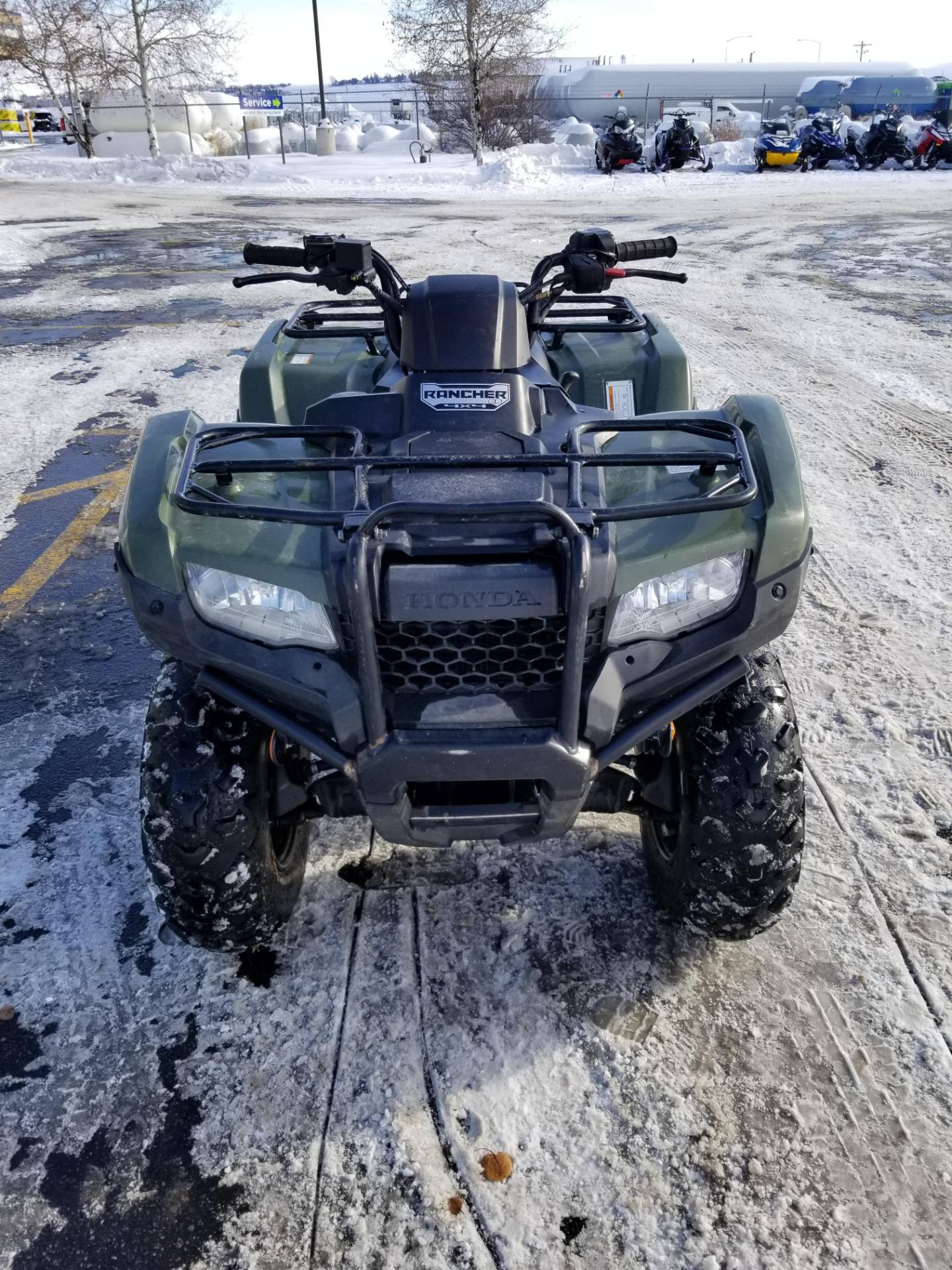 2019 Honda FourTrax Rancher 4x4 ES in Rexburg, Idaho - Photo 4