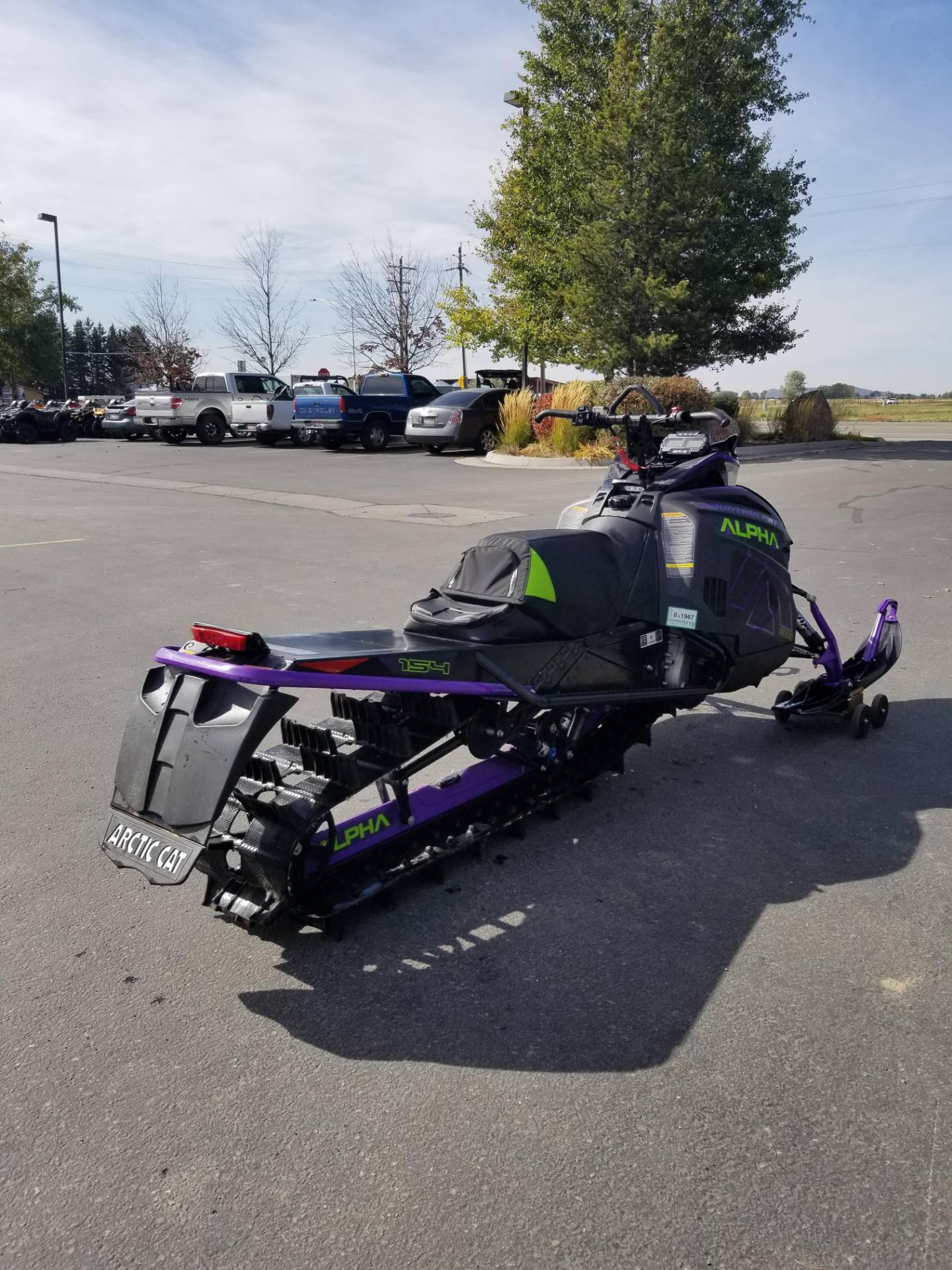 2019 Arctic Cat M 8000 Mountain Cat Alpha One 154 in Rexburg, Idaho - Photo 7