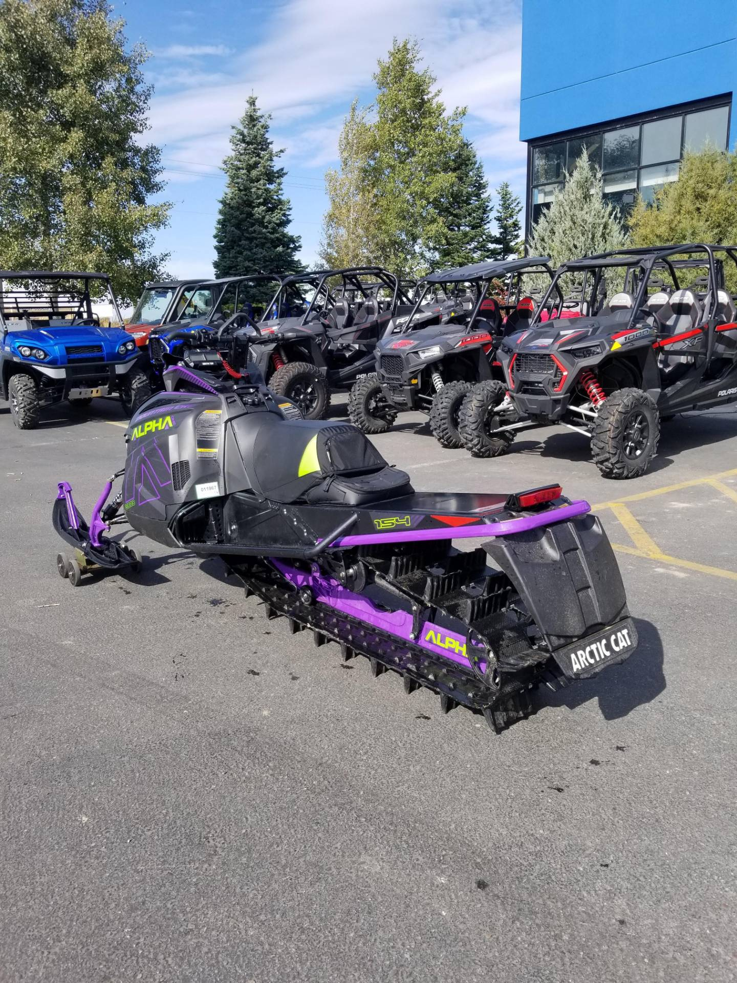 2019 Arctic Cat M 8000 Mountain Cat Alpha One 154 in Rexburg, Idaho - Photo 9