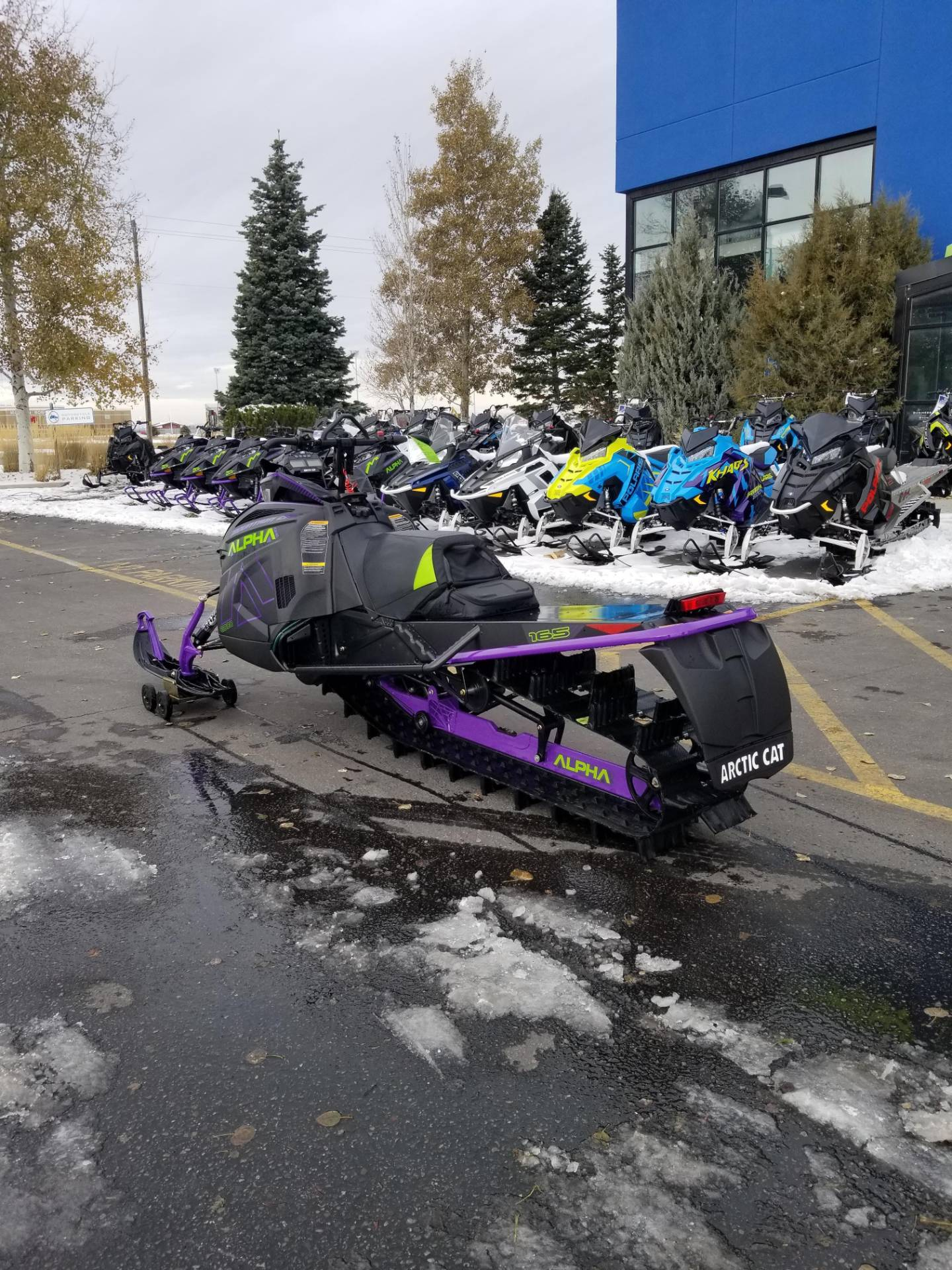 2019 Arctic Cat M 8000 Mountain Cat Alpha One 154 in Rexburg, Idaho - Photo 11