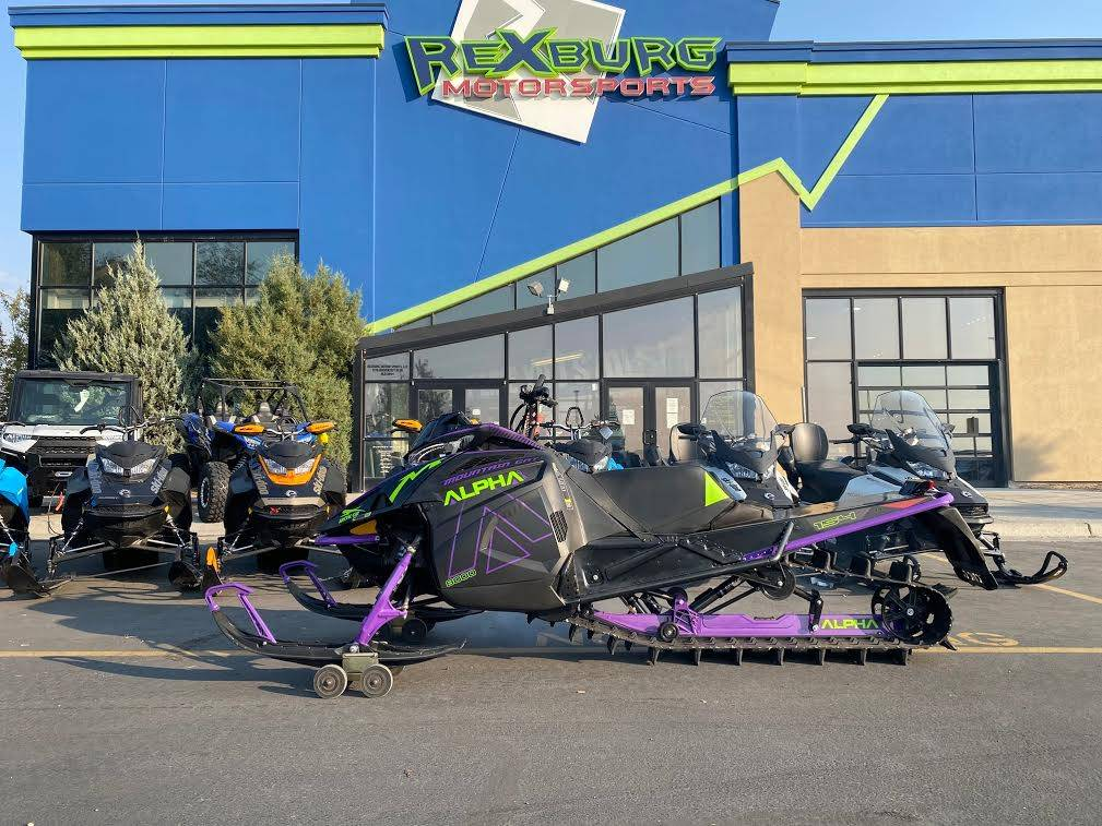 2019 Arctic Cat M 8000 Mountain Cat Alpha One 154 in Rexburg, Idaho - Photo 1