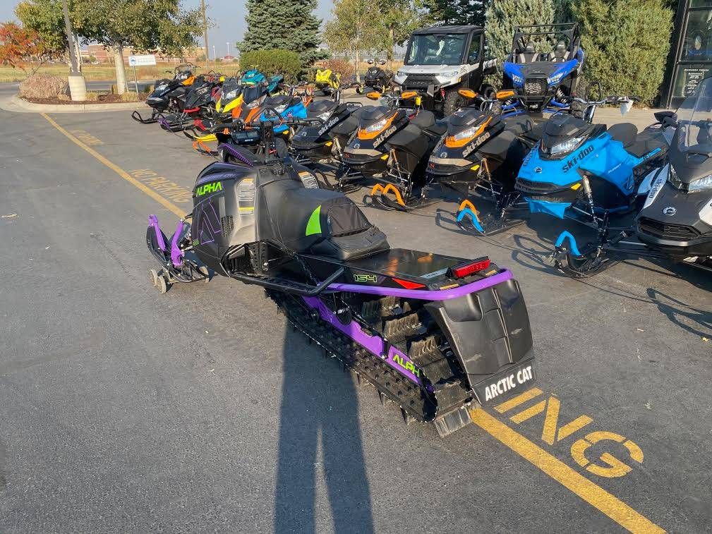 2019 Arctic Cat M 8000 Mountain Cat Alpha One 154 in Rexburg, Idaho - Photo 10