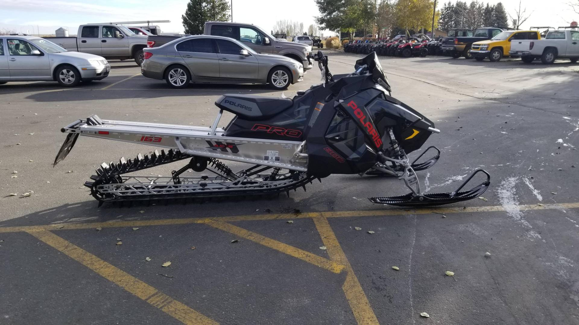 2020 Polaris 800 PRO RMK 163 SC in Rexburg, Idaho - Photo 5