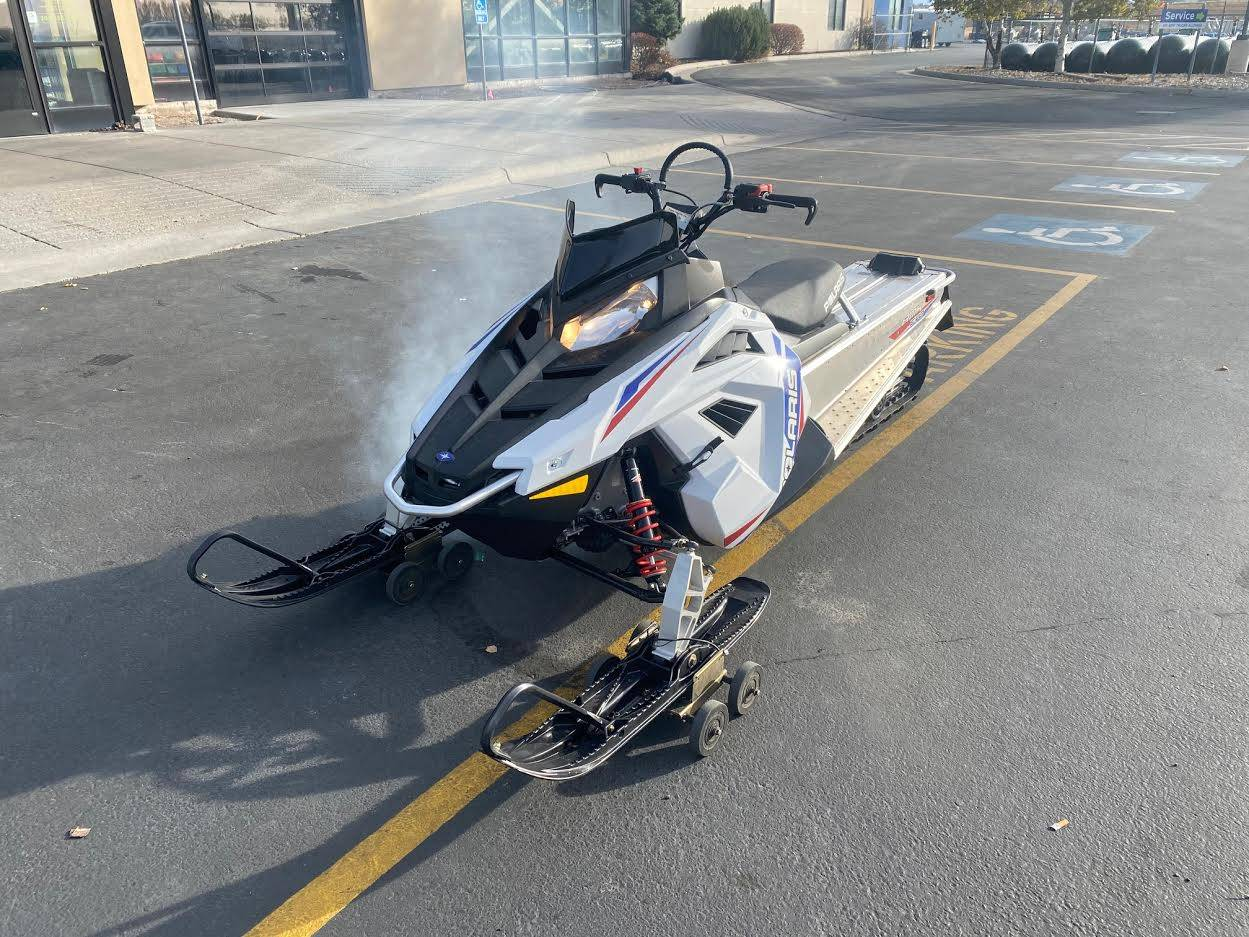 2021 Polaris 550 RMK EVO 144 ES in Rexburg, Idaho - Photo 2